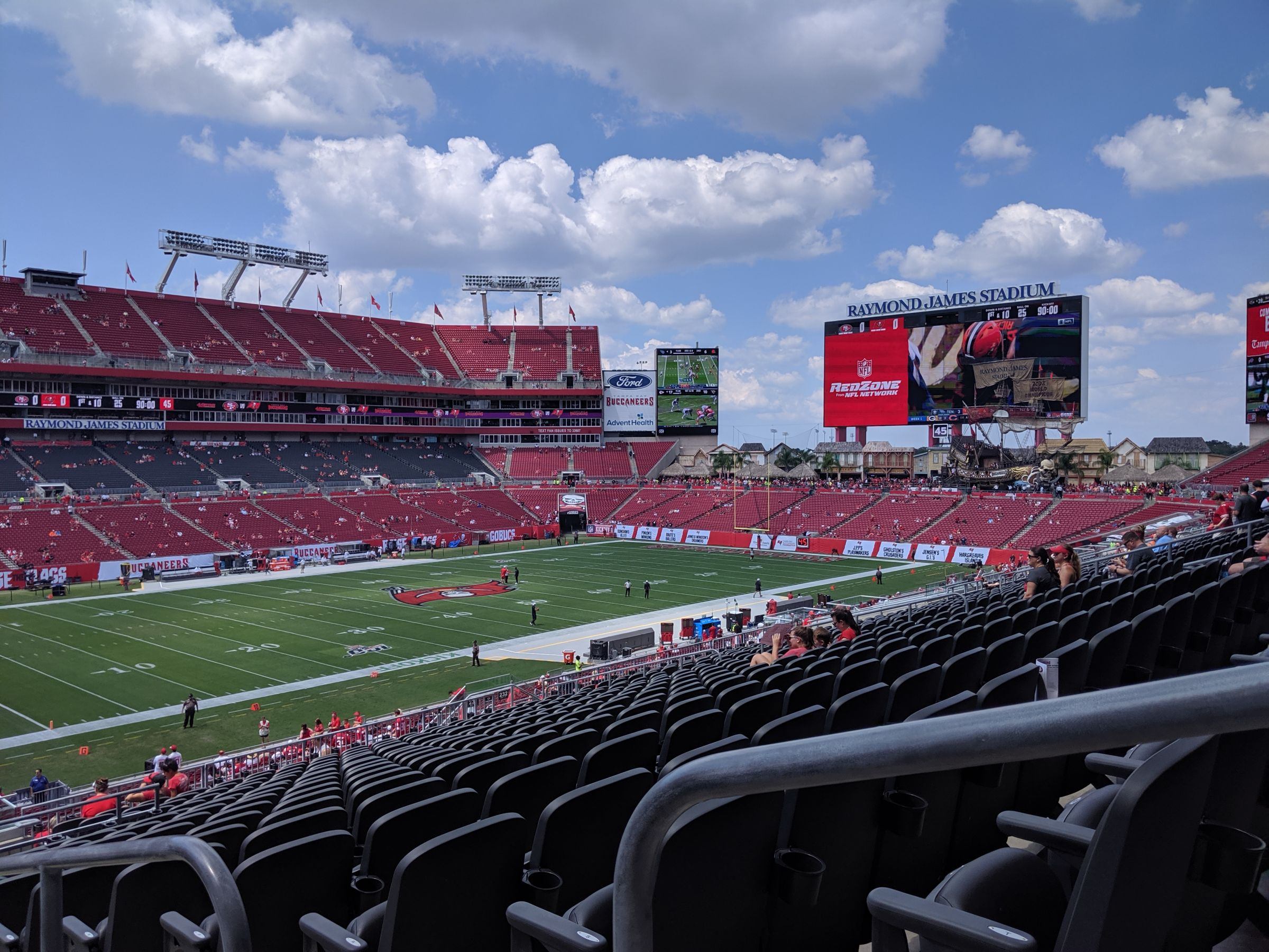 Section 230 seat view
