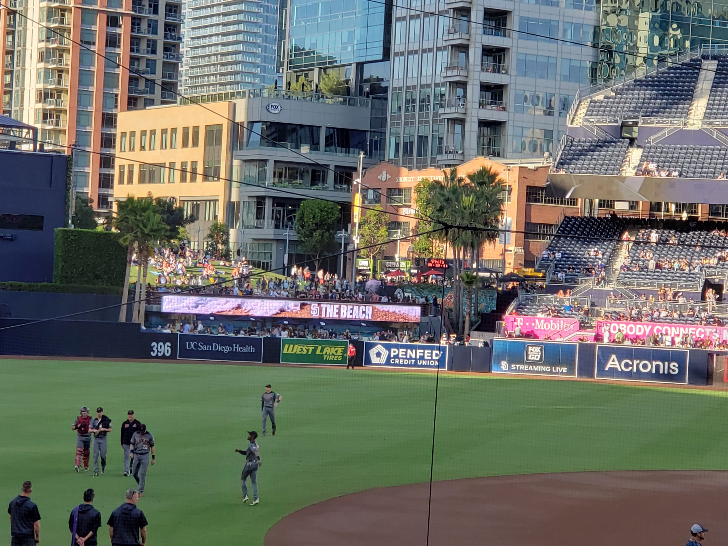 Seat View for PETCO Park Section 110, Row 30