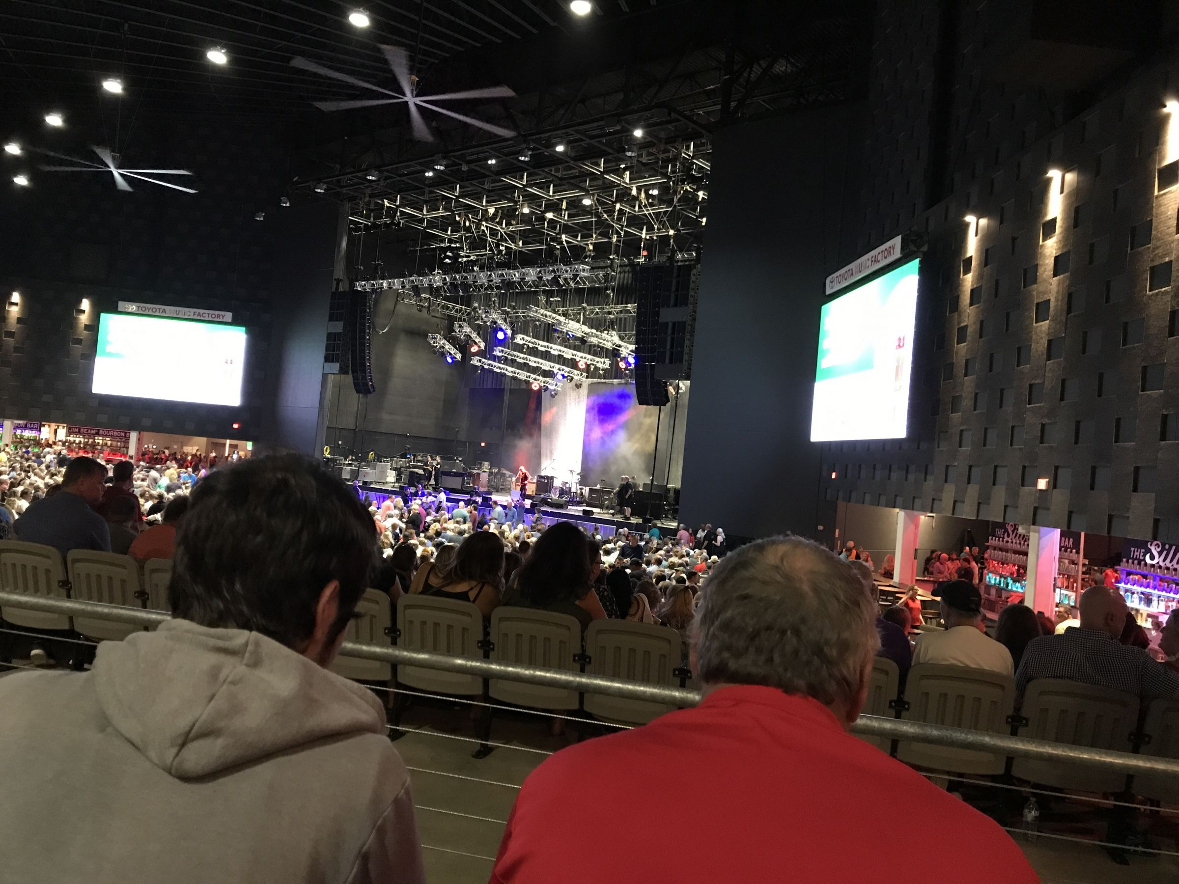Concert Seat View for The Pavilion at Toyota Music Factory Section 300, Row B, Seat 24