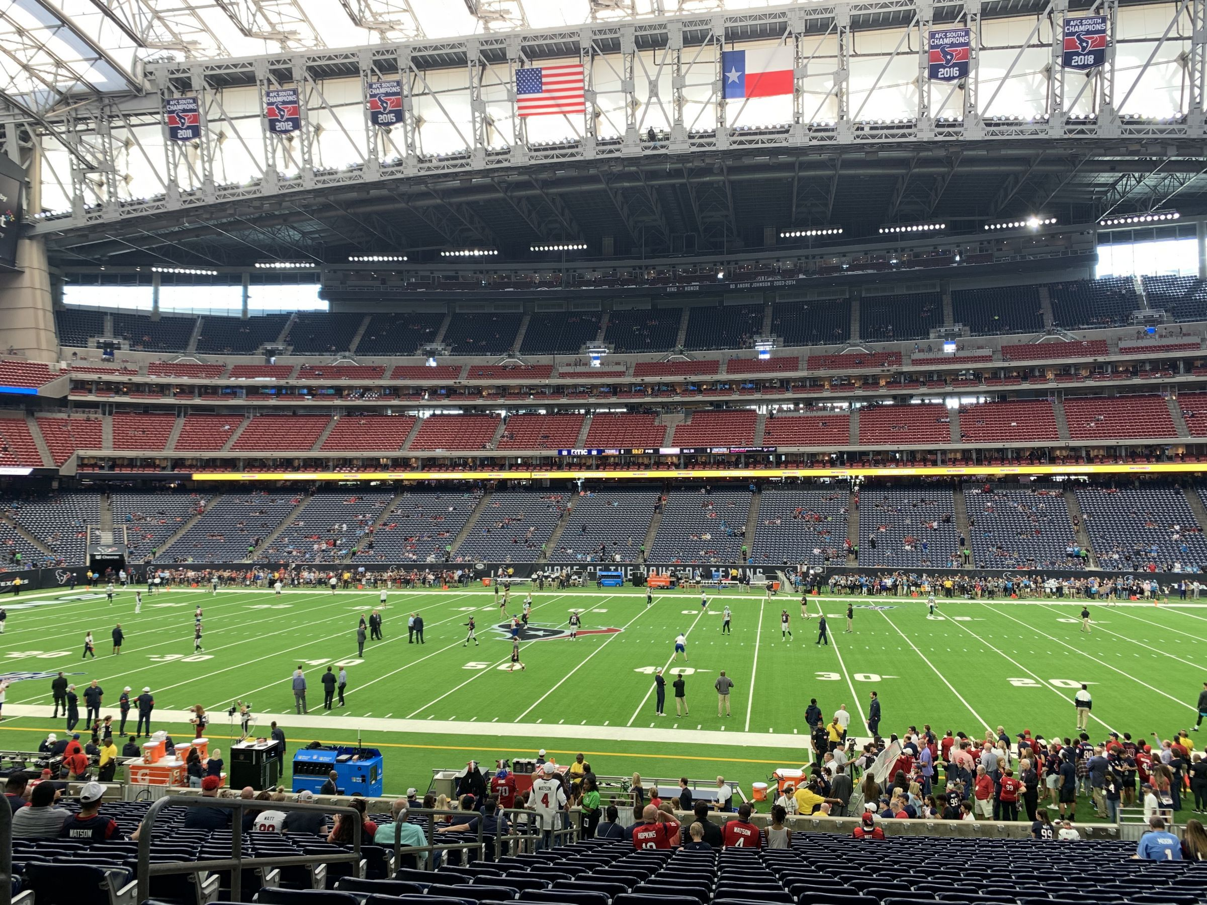 Section 105 seat view