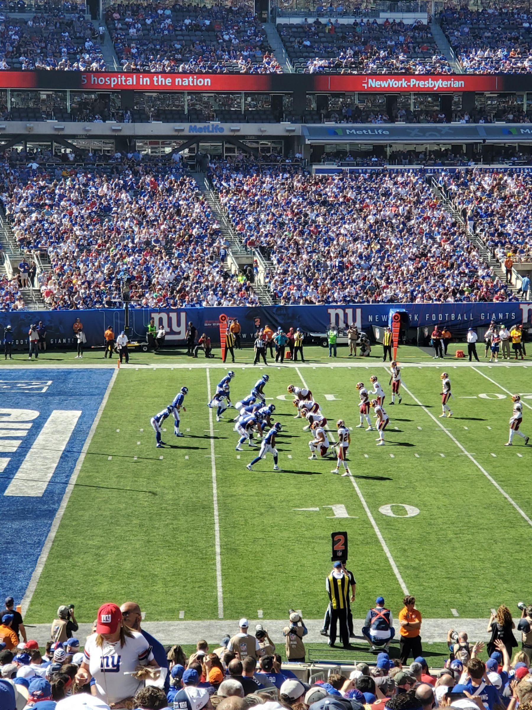 Section 116 seat view