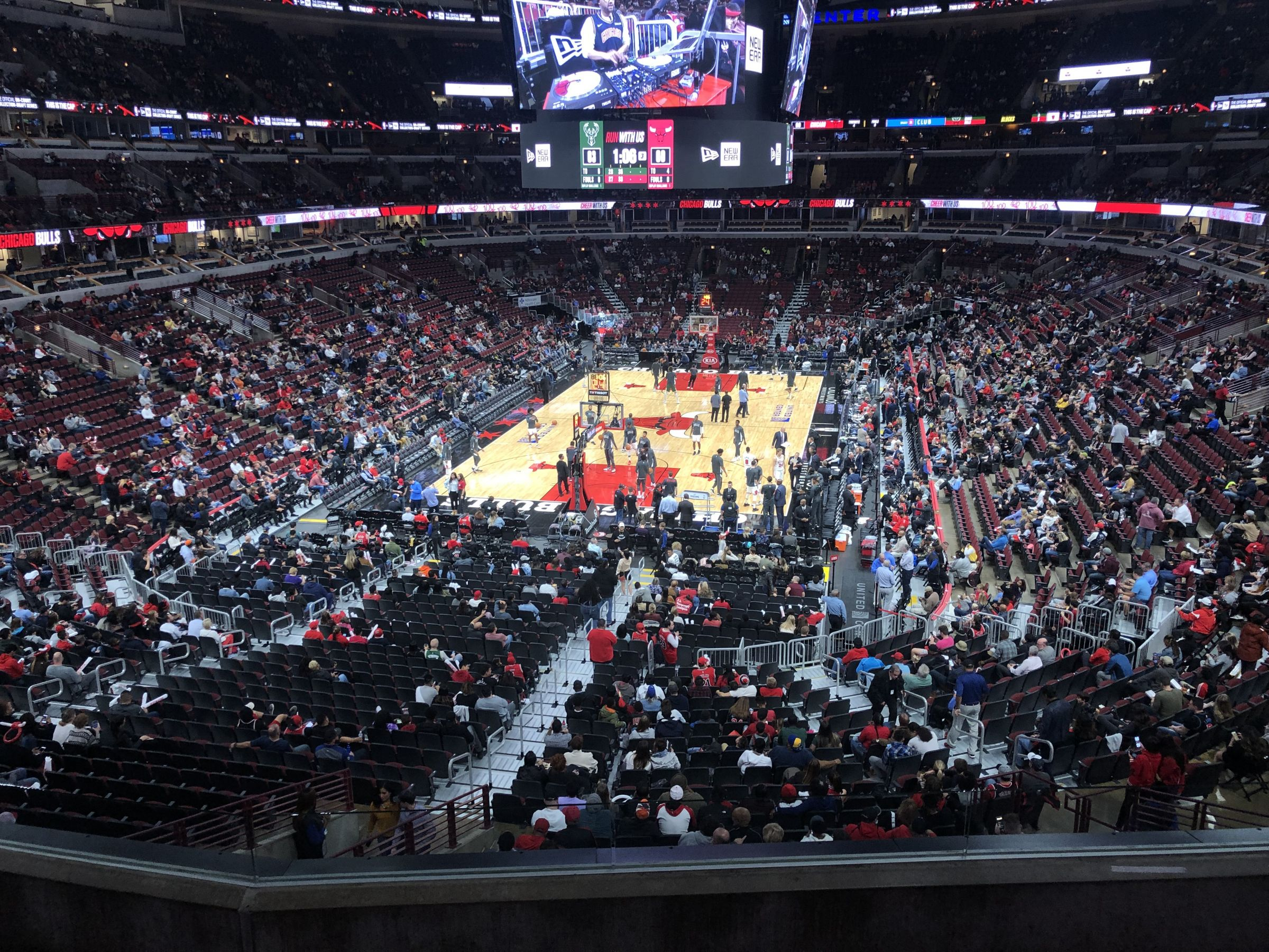 Section 208 seat view