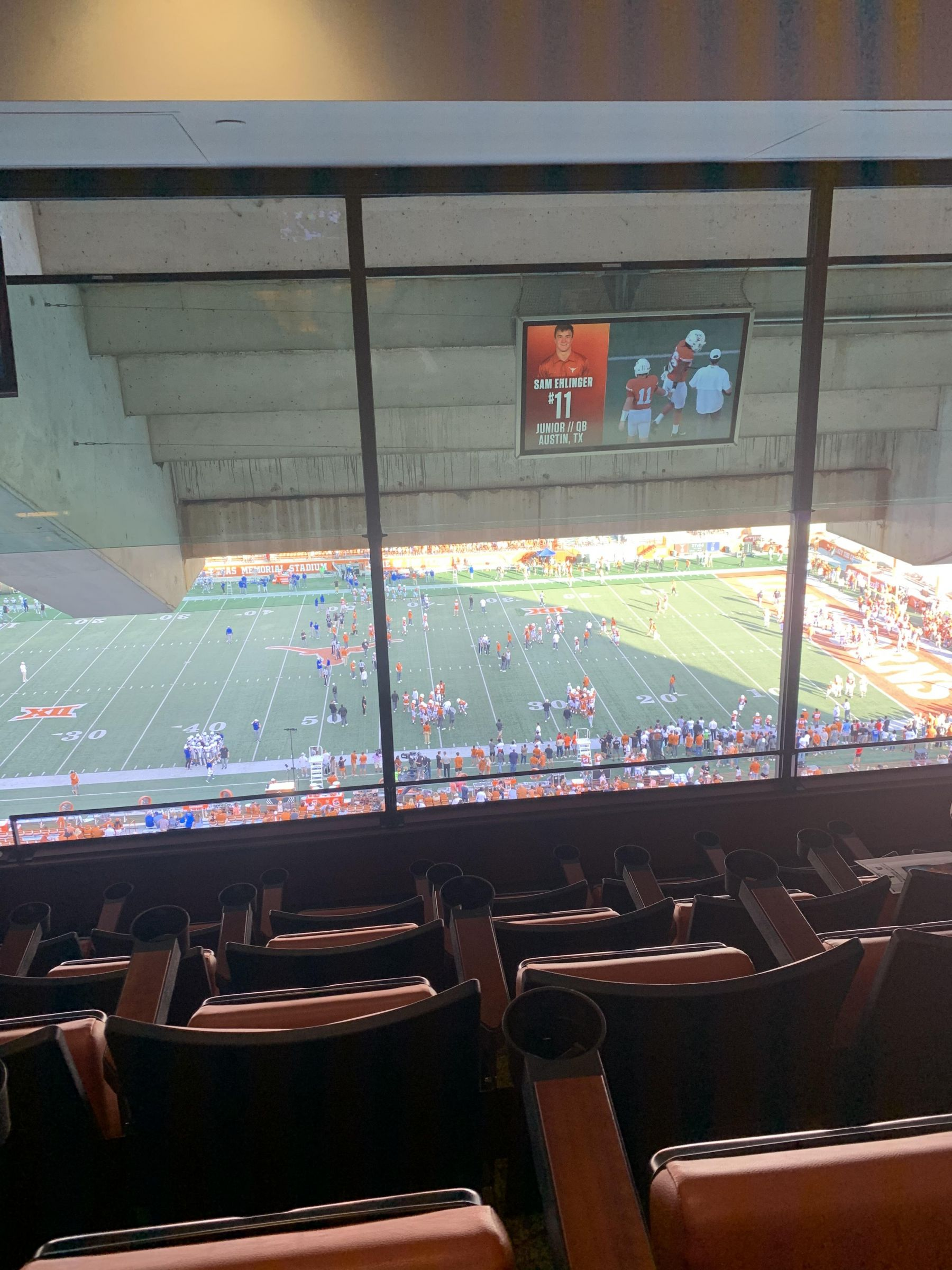 Section CR4 seat view