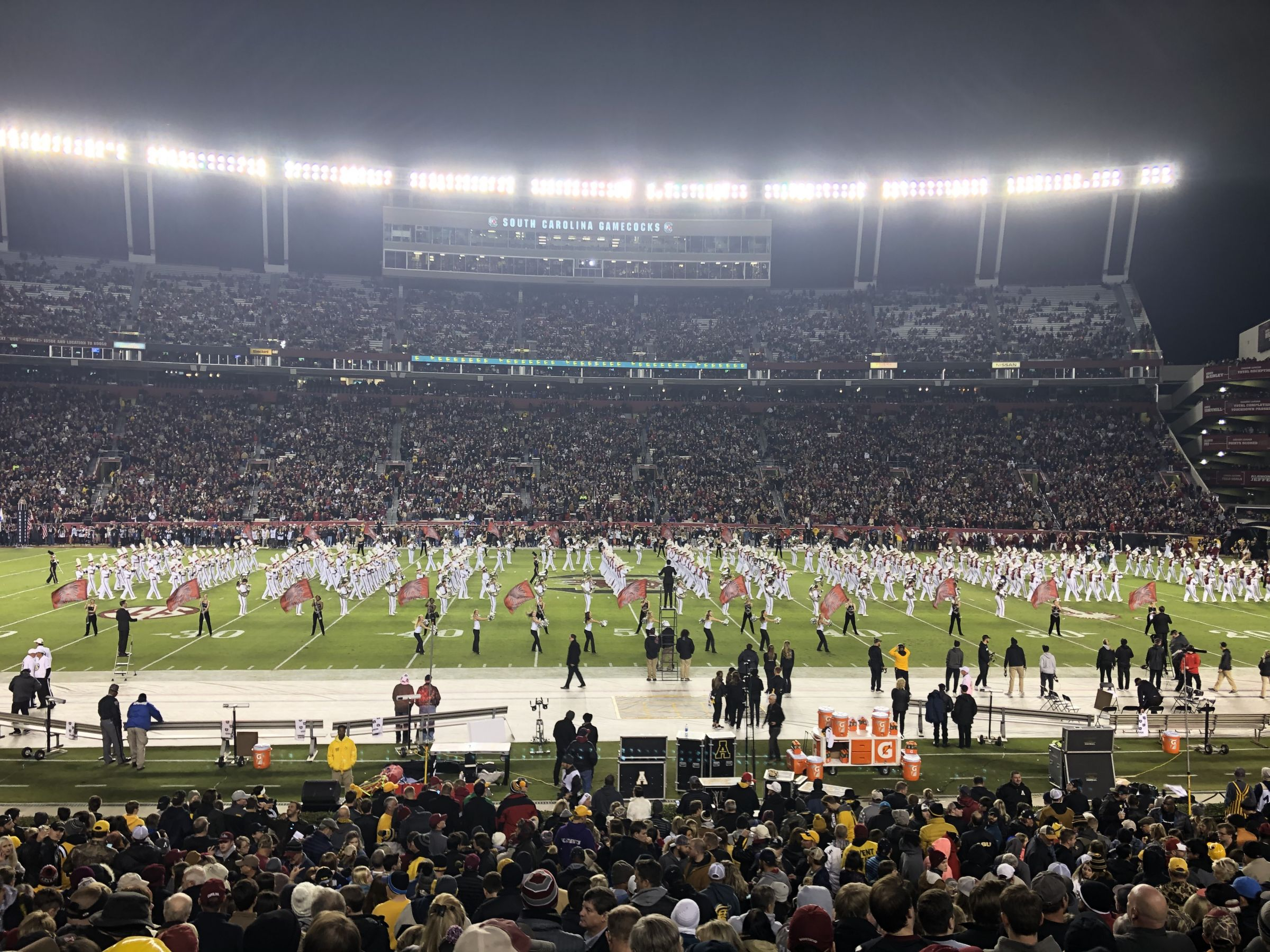 Seat View for Williams-Brice Stadium Section 21, Row 22