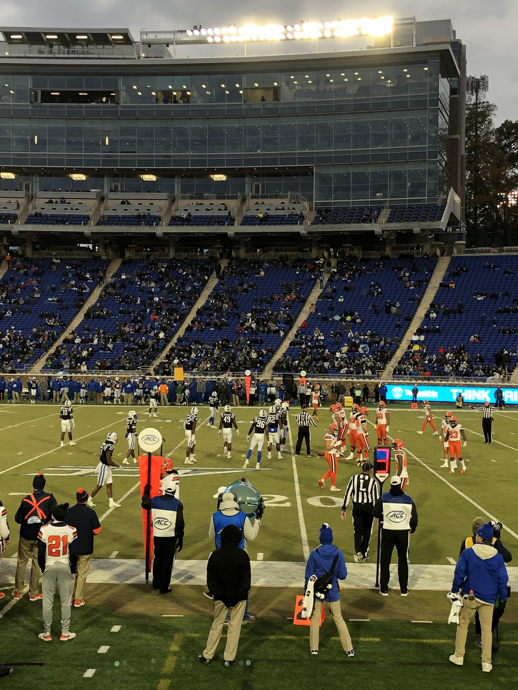 Seat View for Wallace Wade Stadium Section 9, Row C