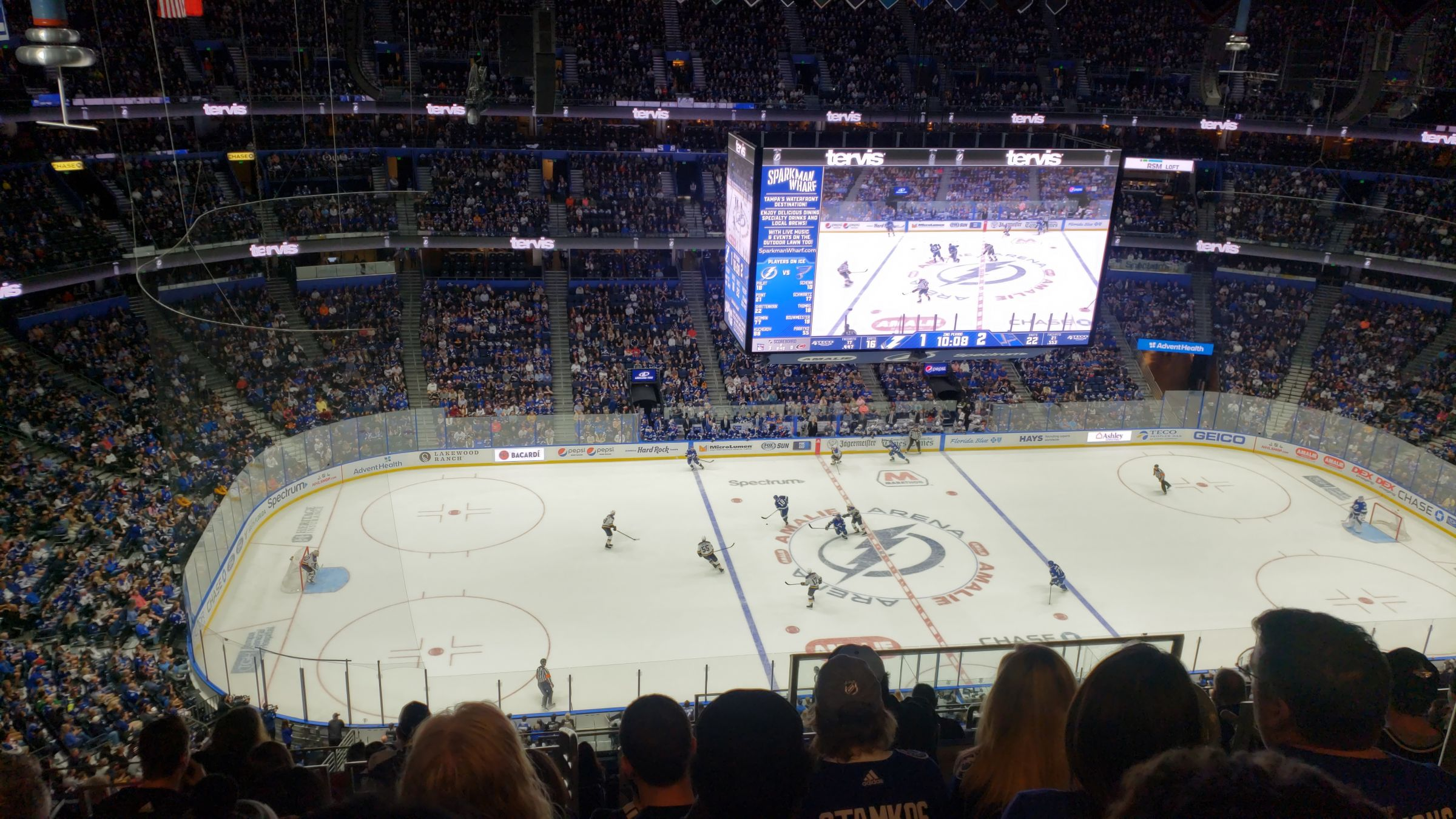 Section 318 seat view