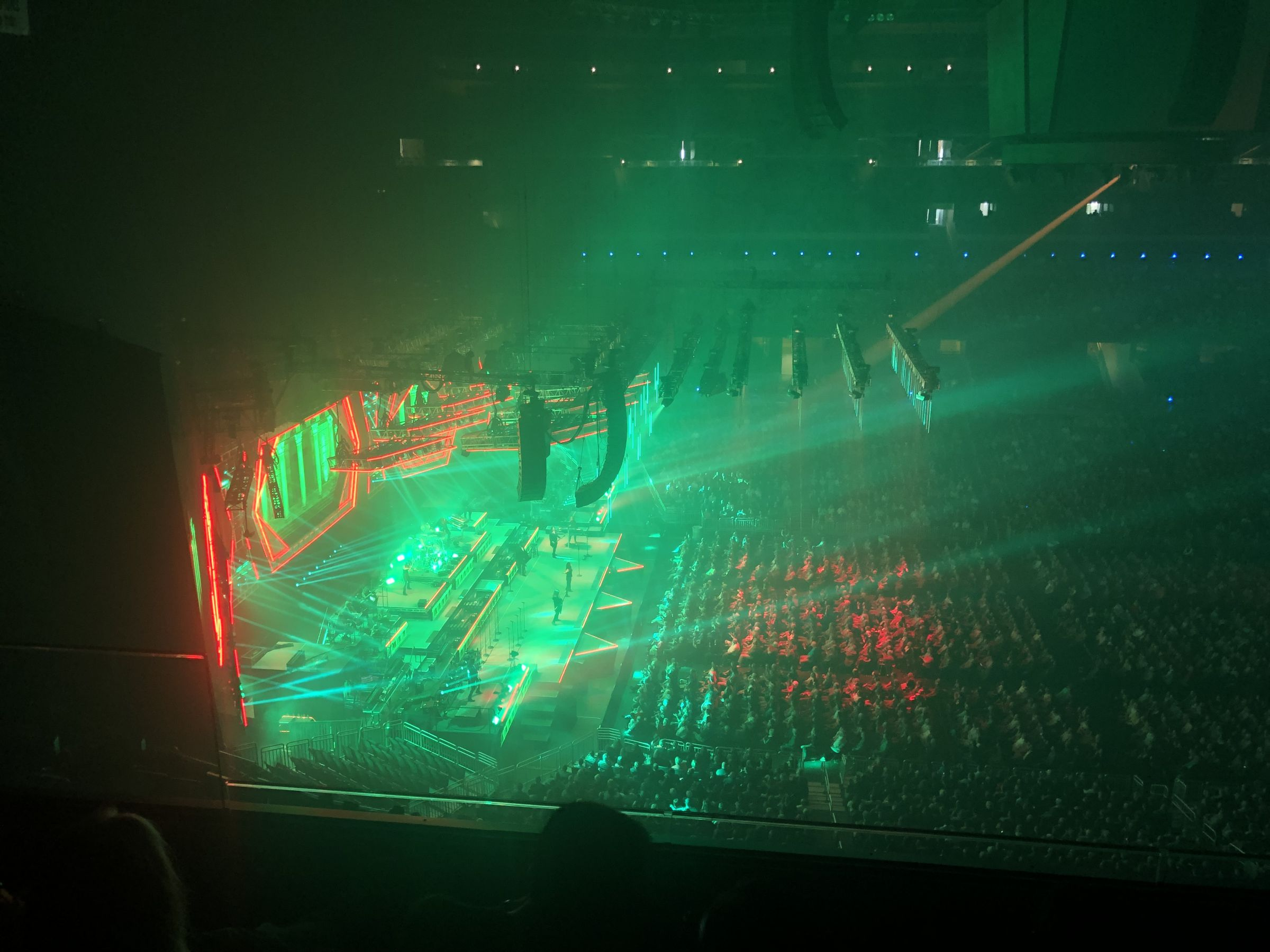 Concert Seat View for Amway Center Section 227, Row 4, Seat 14