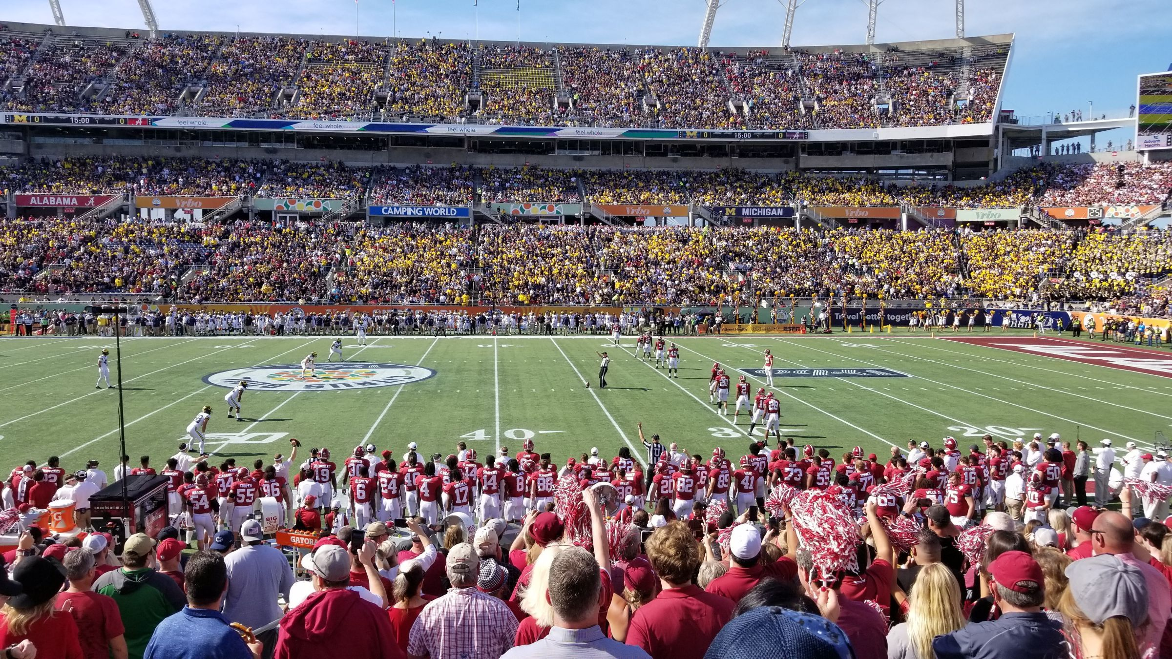 Section 107 seat view