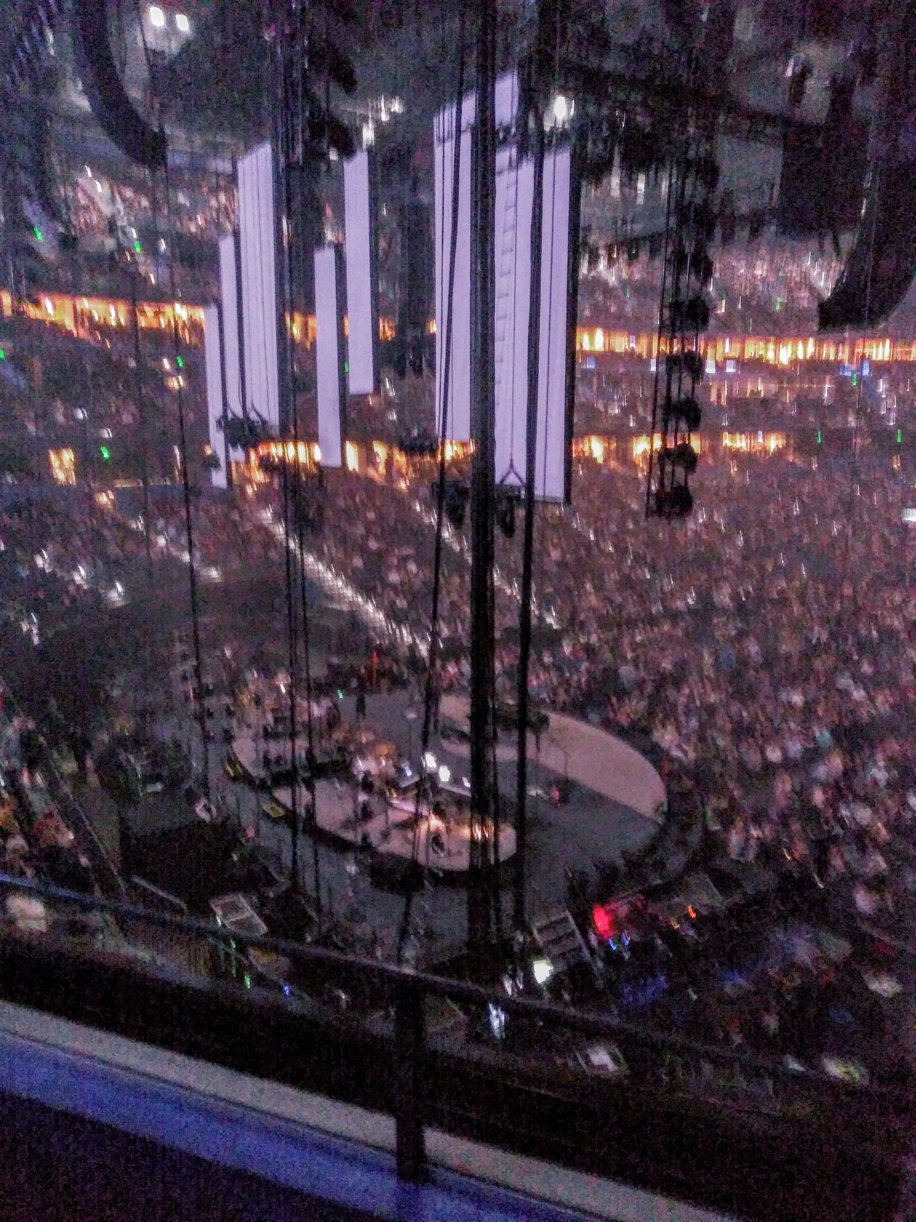 Concert Seat View for Amalie Arena Club 2, Row B