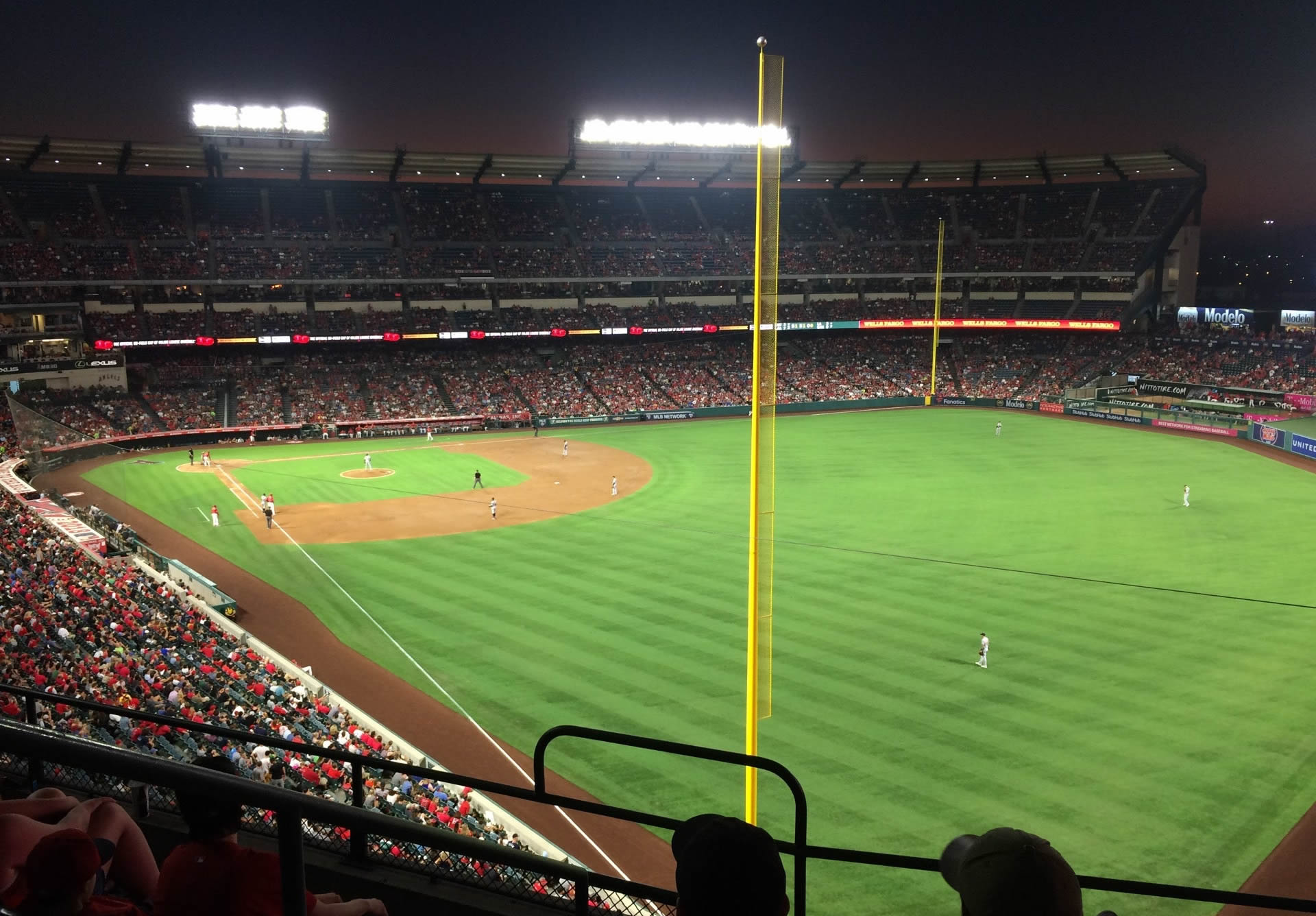 Seat View for Angel Stadium Section 349