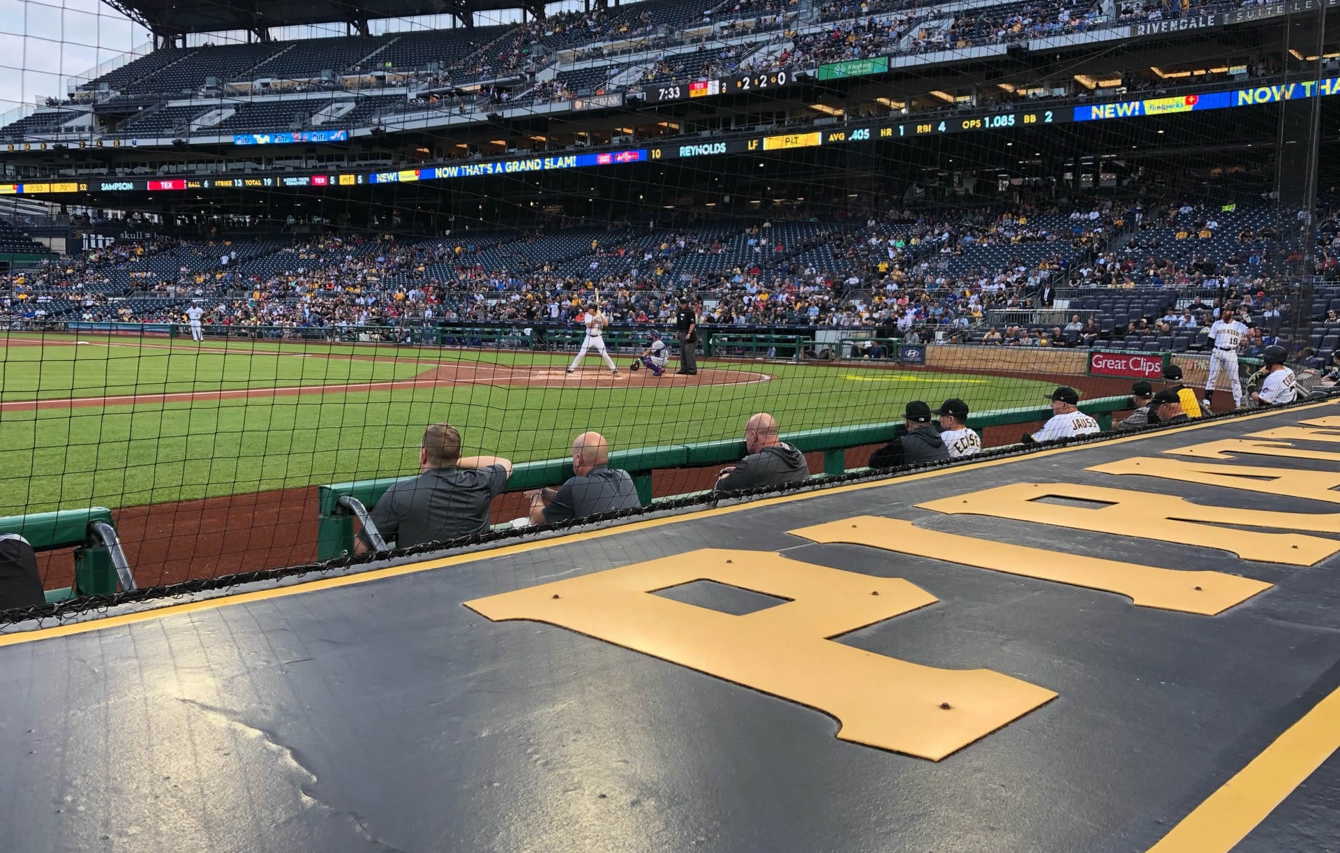 Section 23 seat view