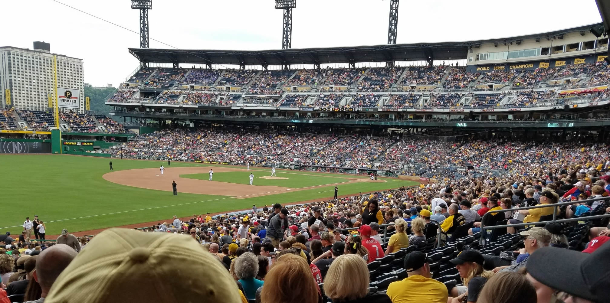 Section 130 seat view