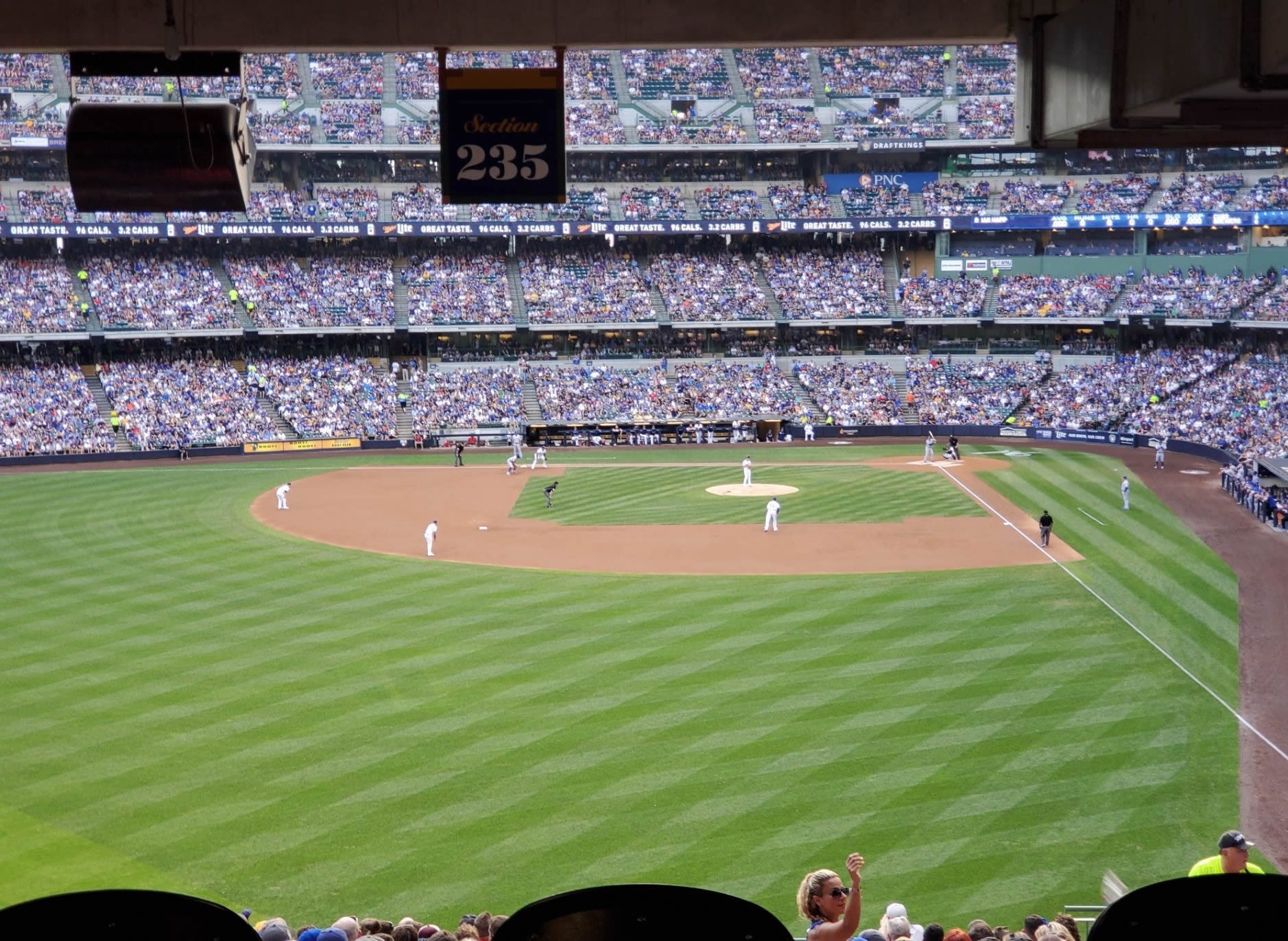 Section 235 seat view