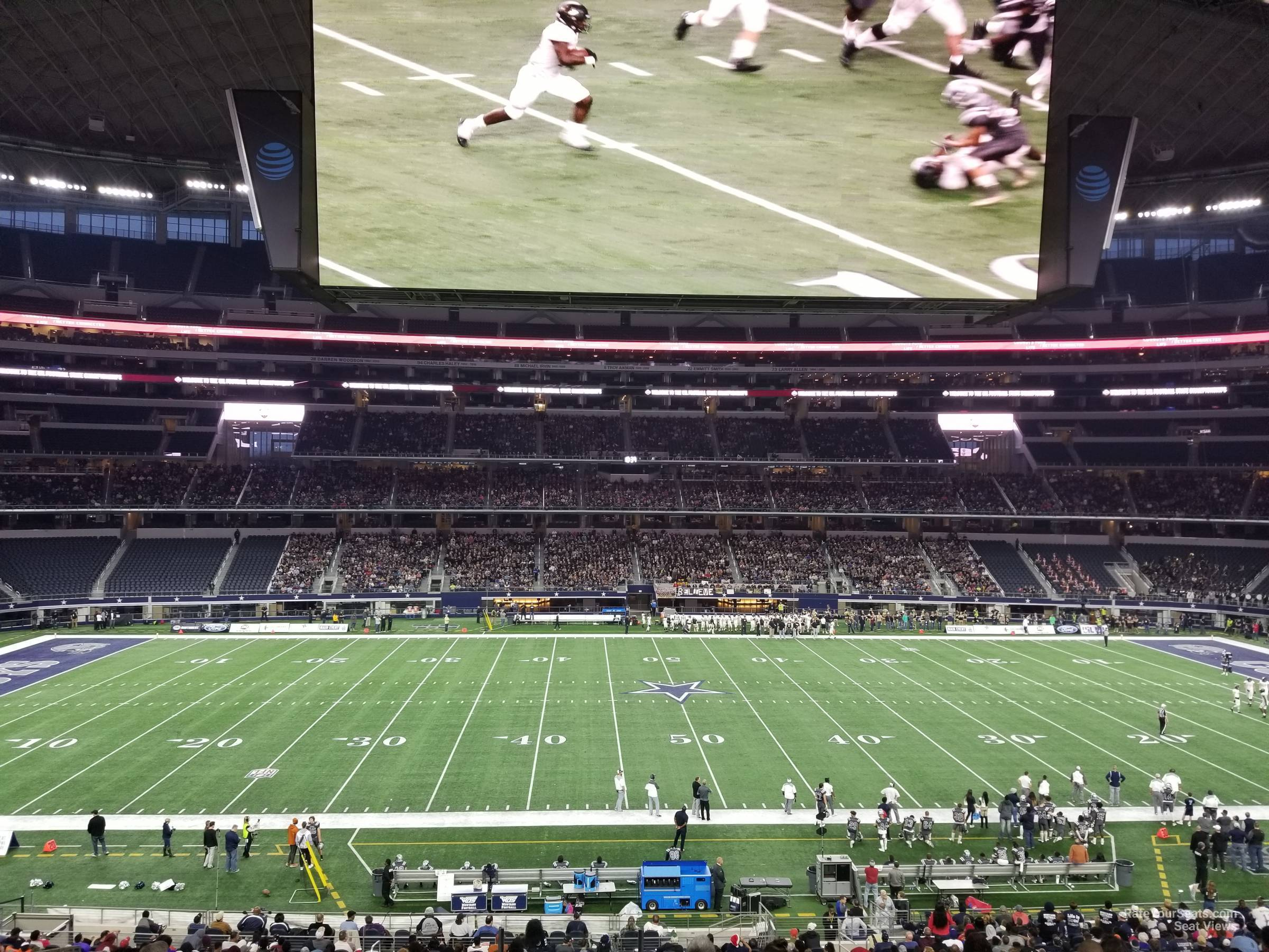 AT&T Stadium Section C210 - Dallas Cowboys - RateYourSeats.com