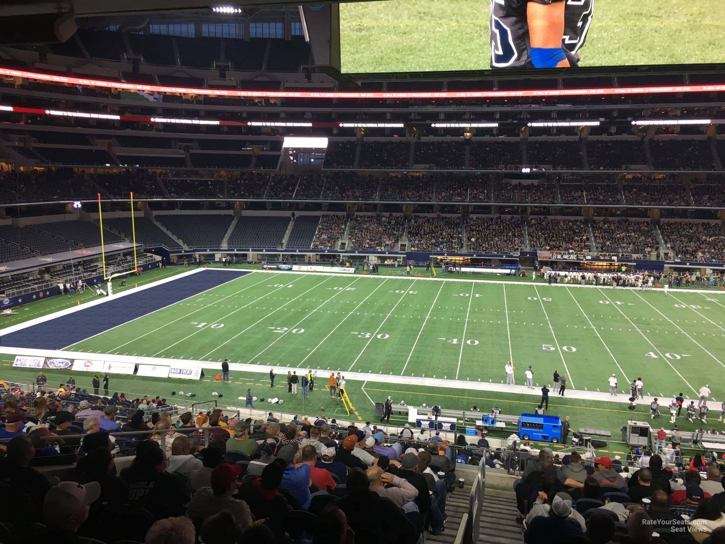 Att Stadium Section C210 Dallas Cowboys Rateyourseatscom