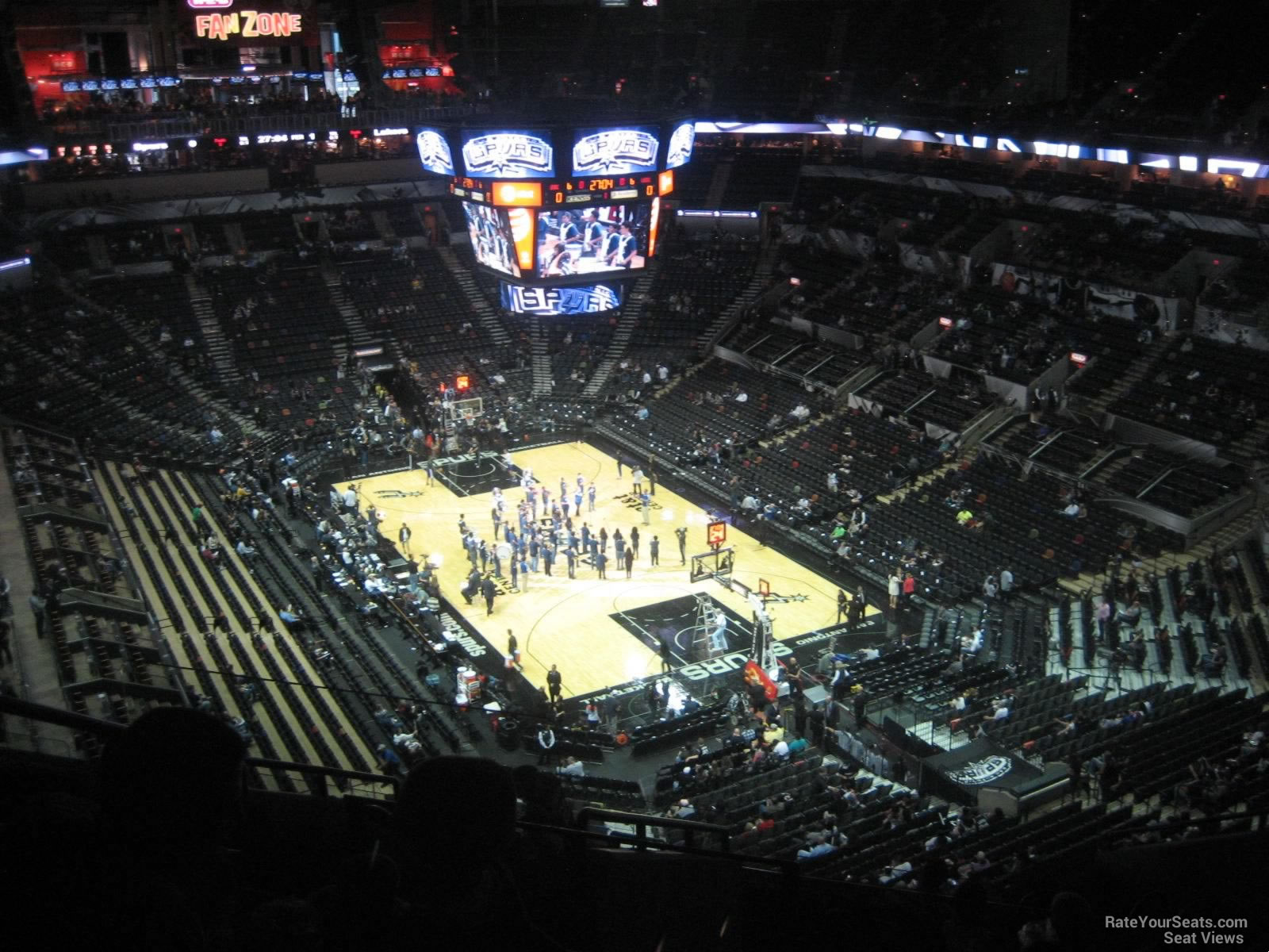 Seat View for AT&T Center Section 202, Row 10