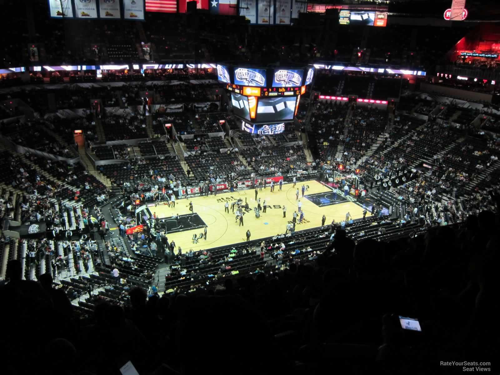 At Amp T Center Section 226 San Antonio Spurs