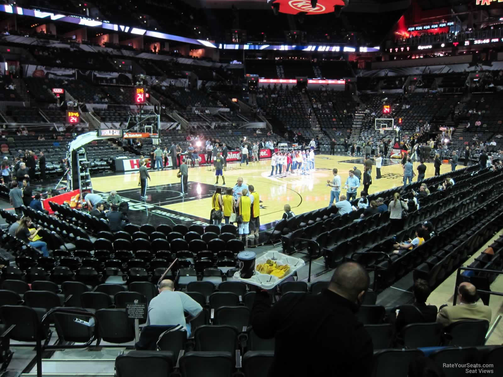 Seat View for AT&T Center Section 26