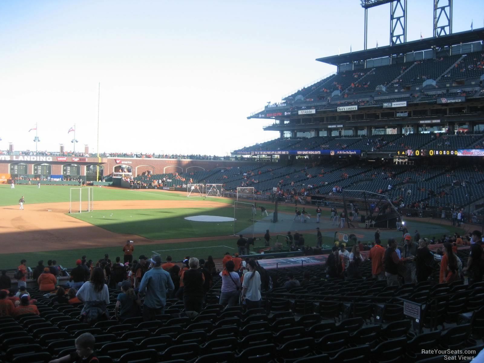 Oracle Park Section 125 San Francisco Giants