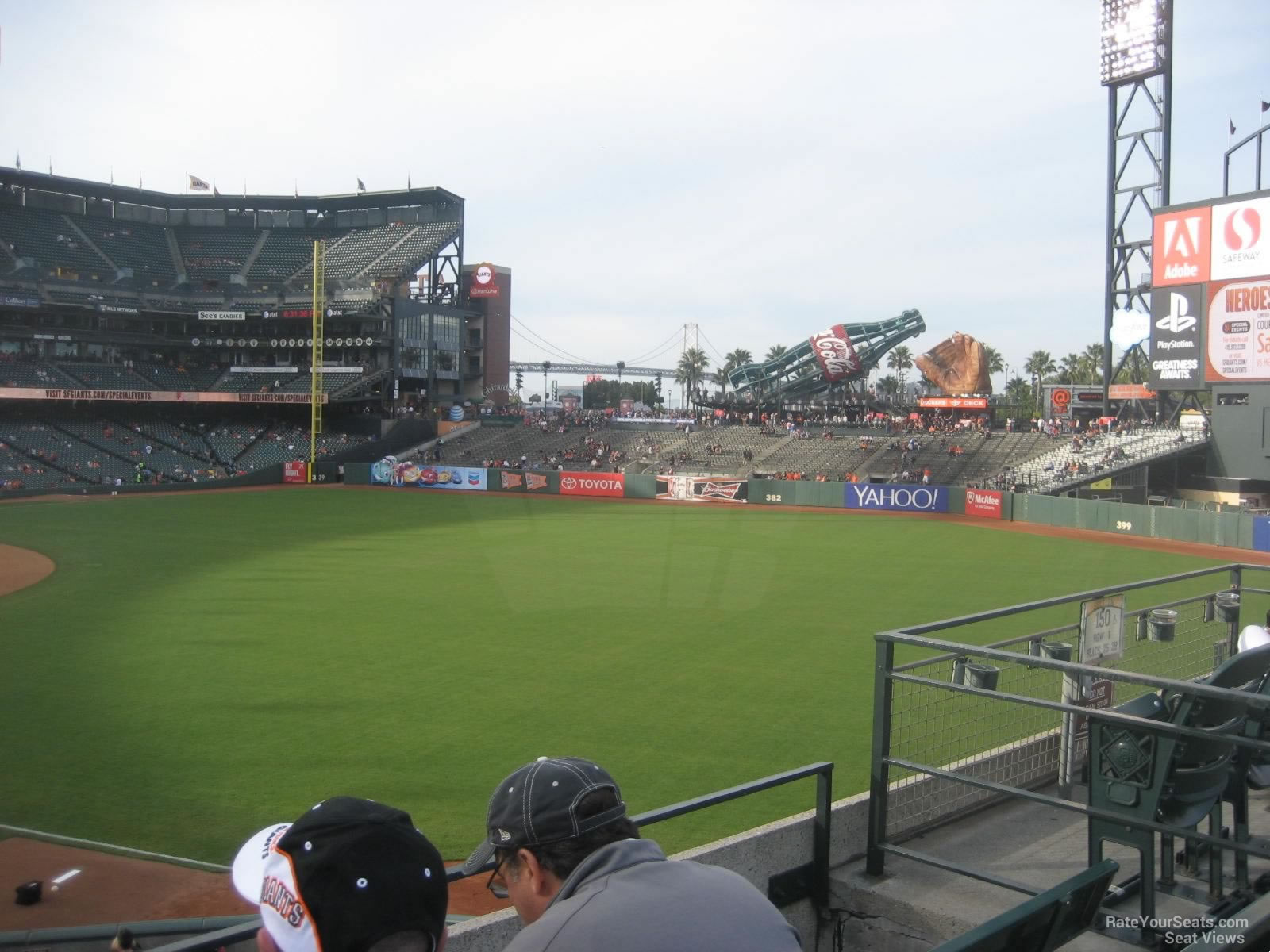 ATT Park Section 151 2 on 5 15 2014