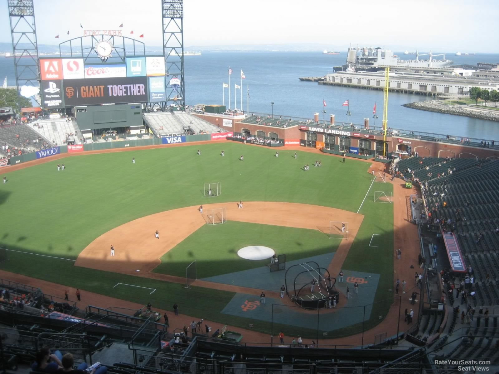 San Francisco Giants Seat View For ATT Park Section 319