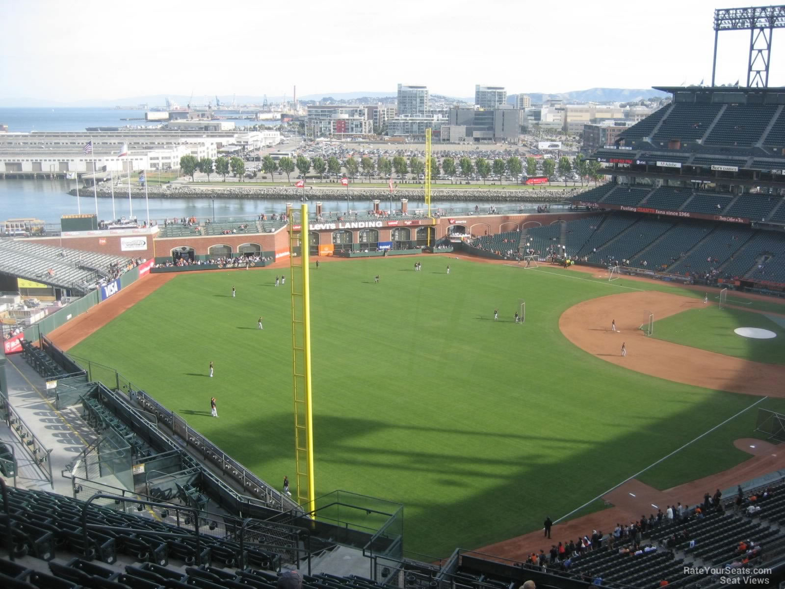 Oracle Park Section 333 - San Francisco Giants ...