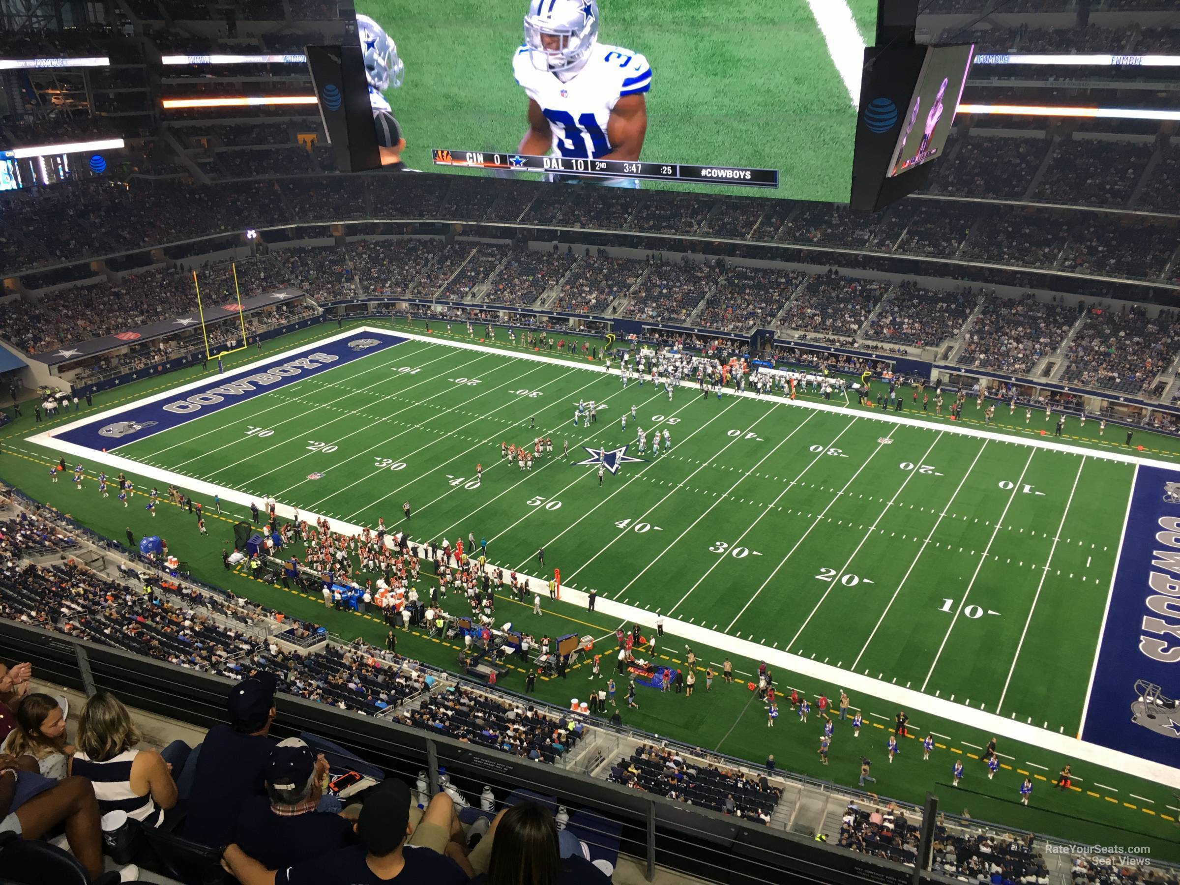 Section 439 seat view