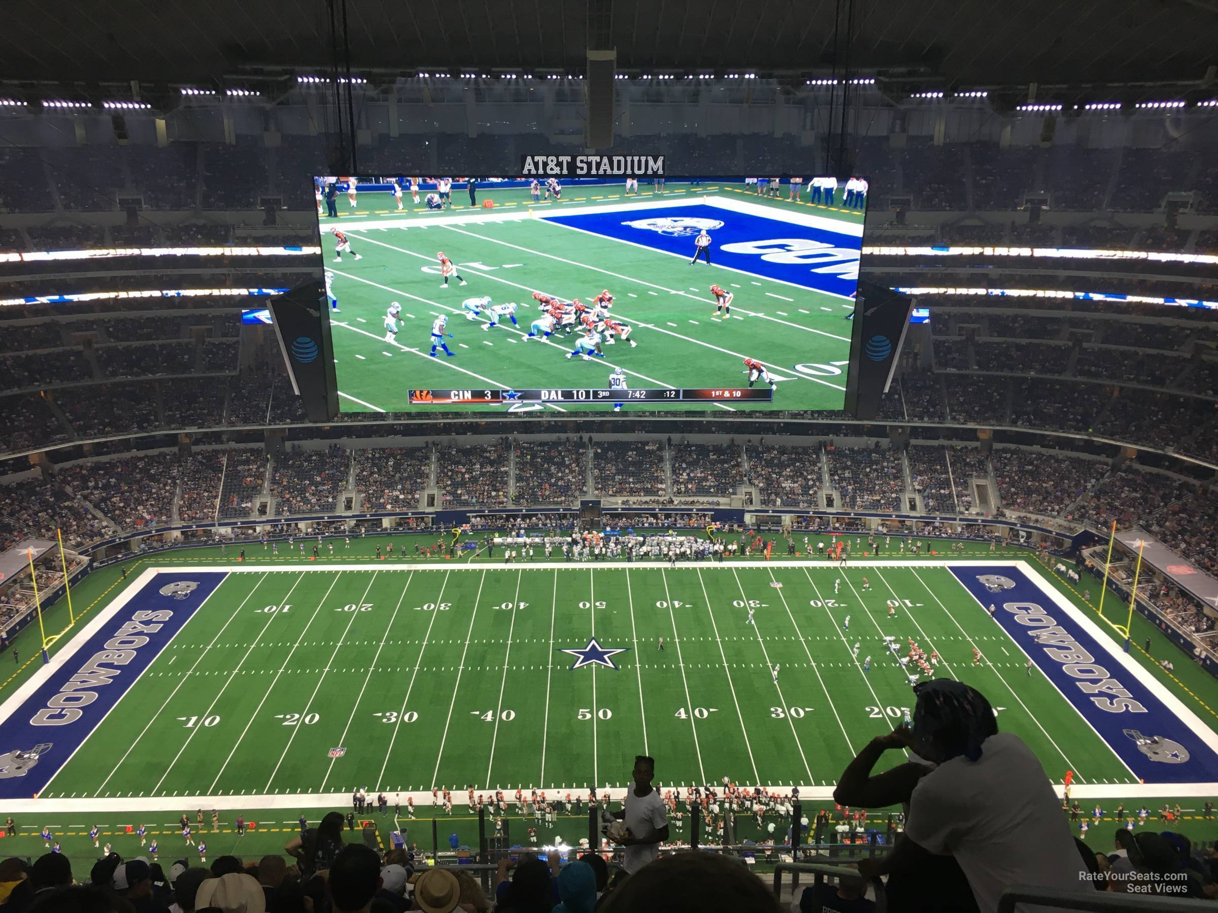 Section 444 seat view