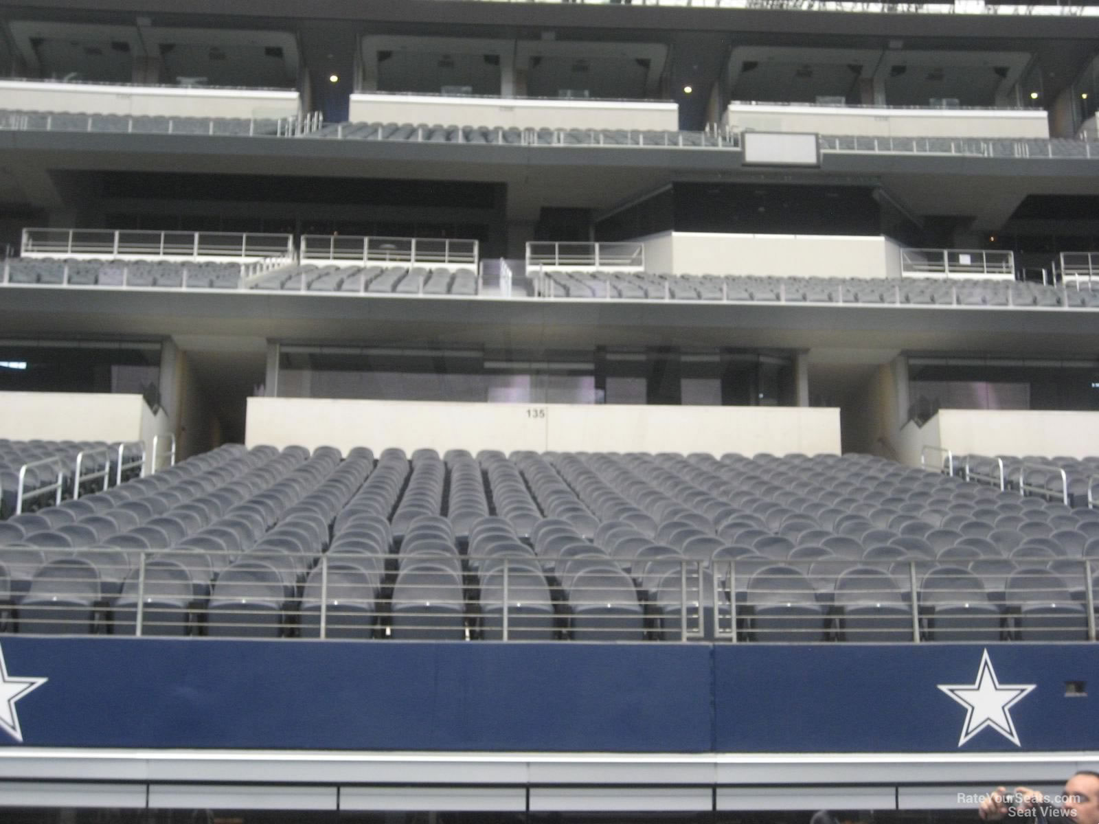 AT&T Stadium Section C135 Seats