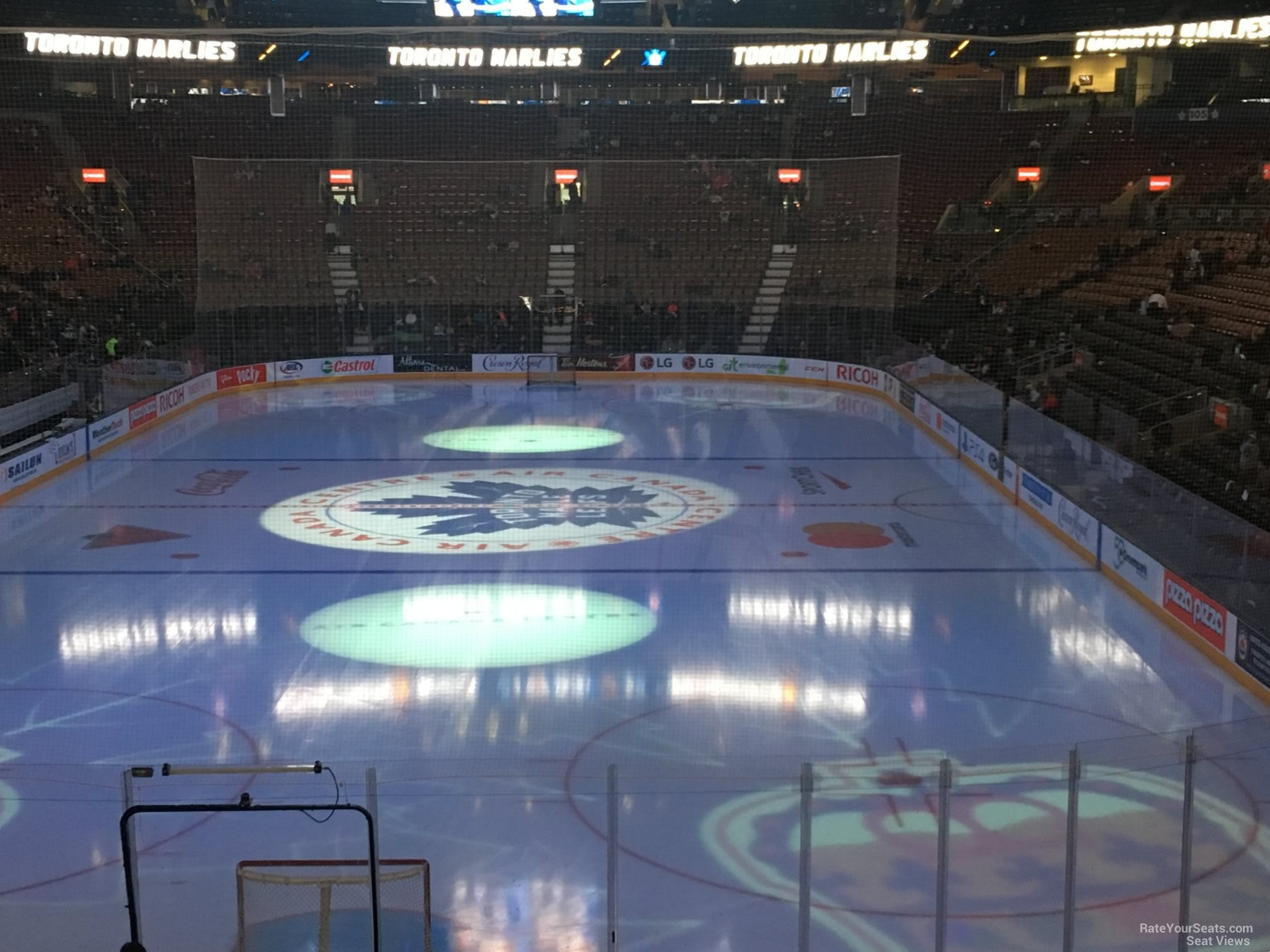 Toronto Maple Leafs Seat View for Scotiabank Arena Section 113, Row 20