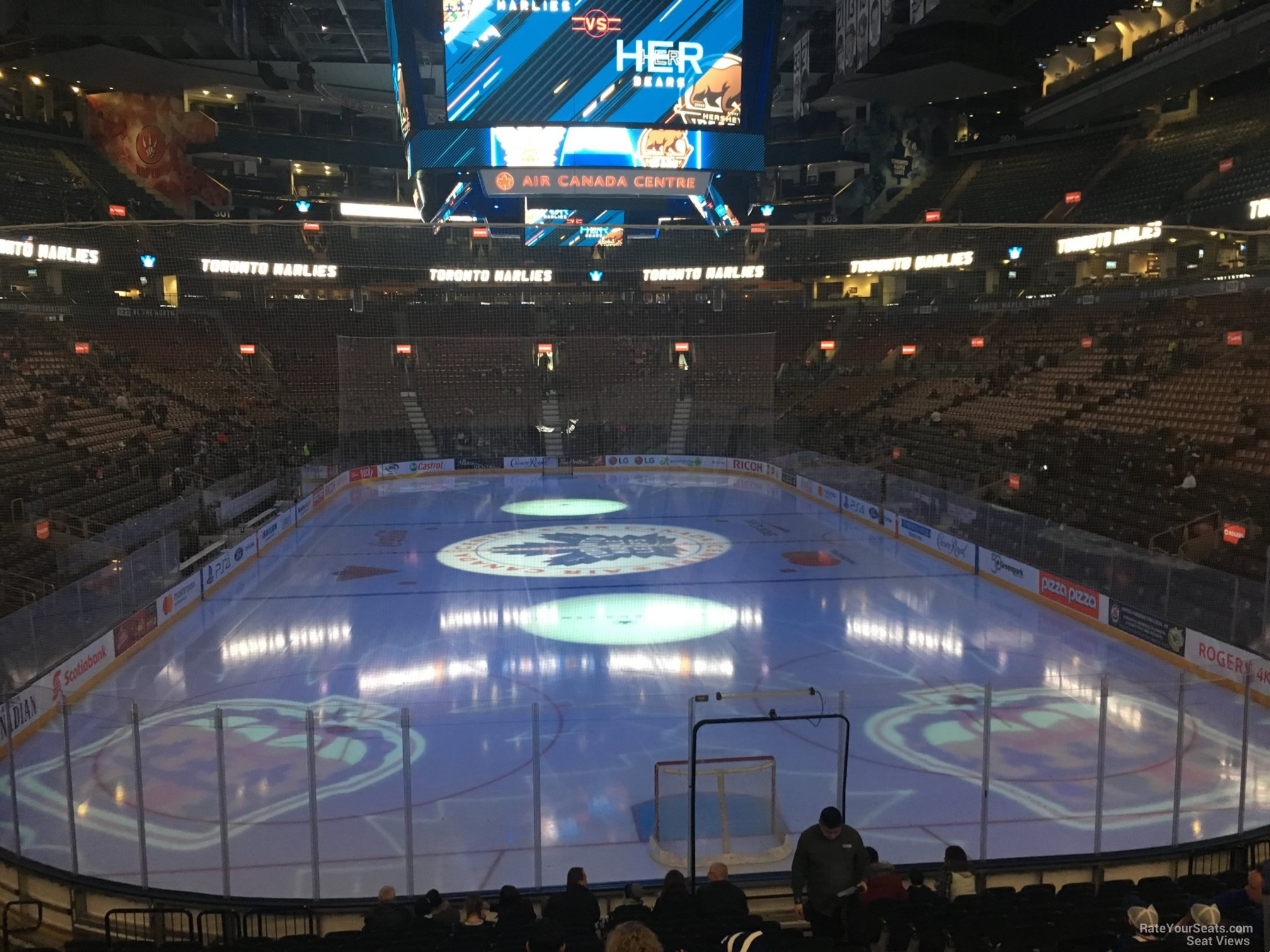 Toronto Maple Leafs Seat View for Scotiabank Arena Section 114, Row 20