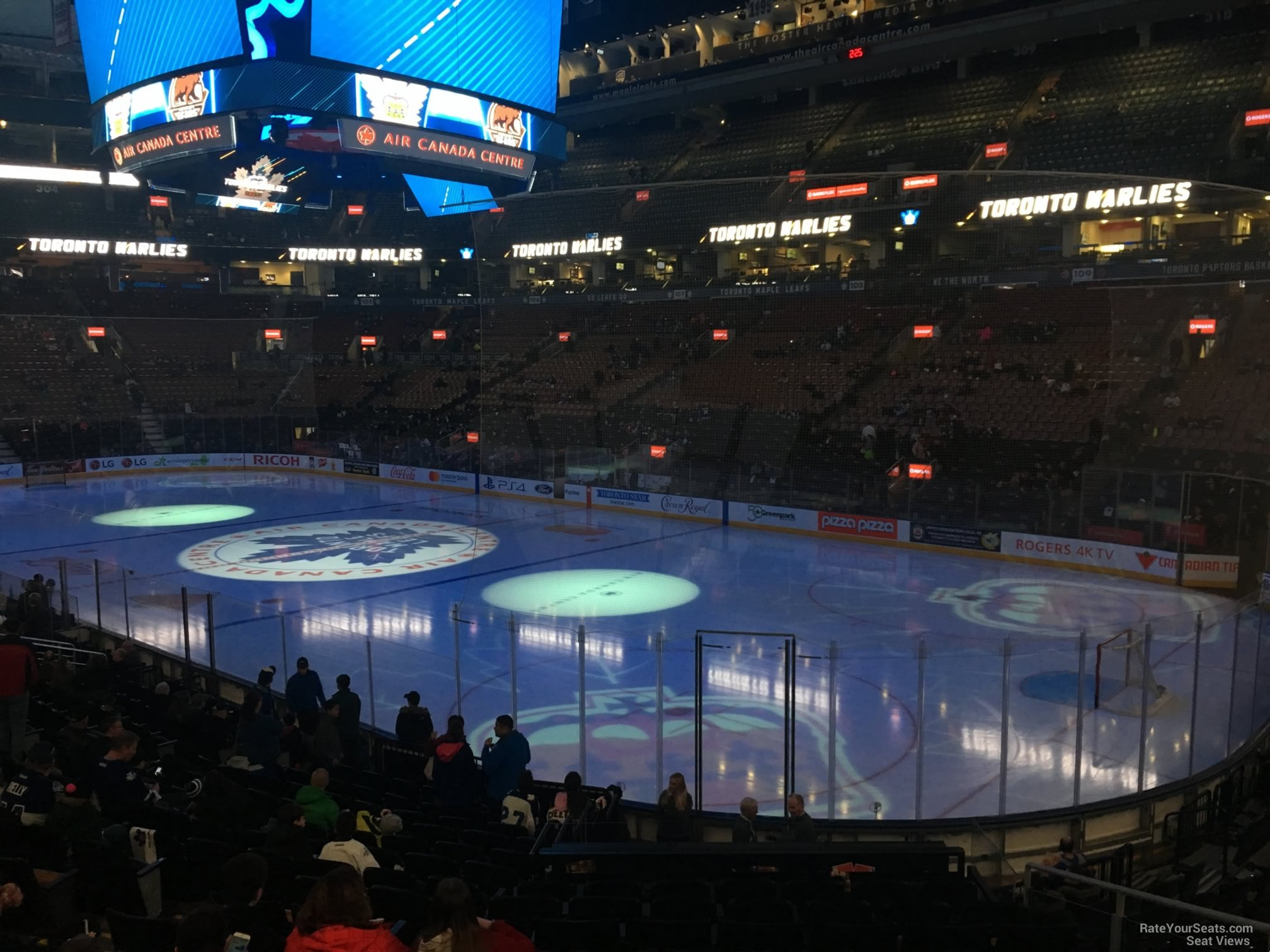 Toronto Maple Leafs Seat View for Scotiabank Arena Section 116, Row 20