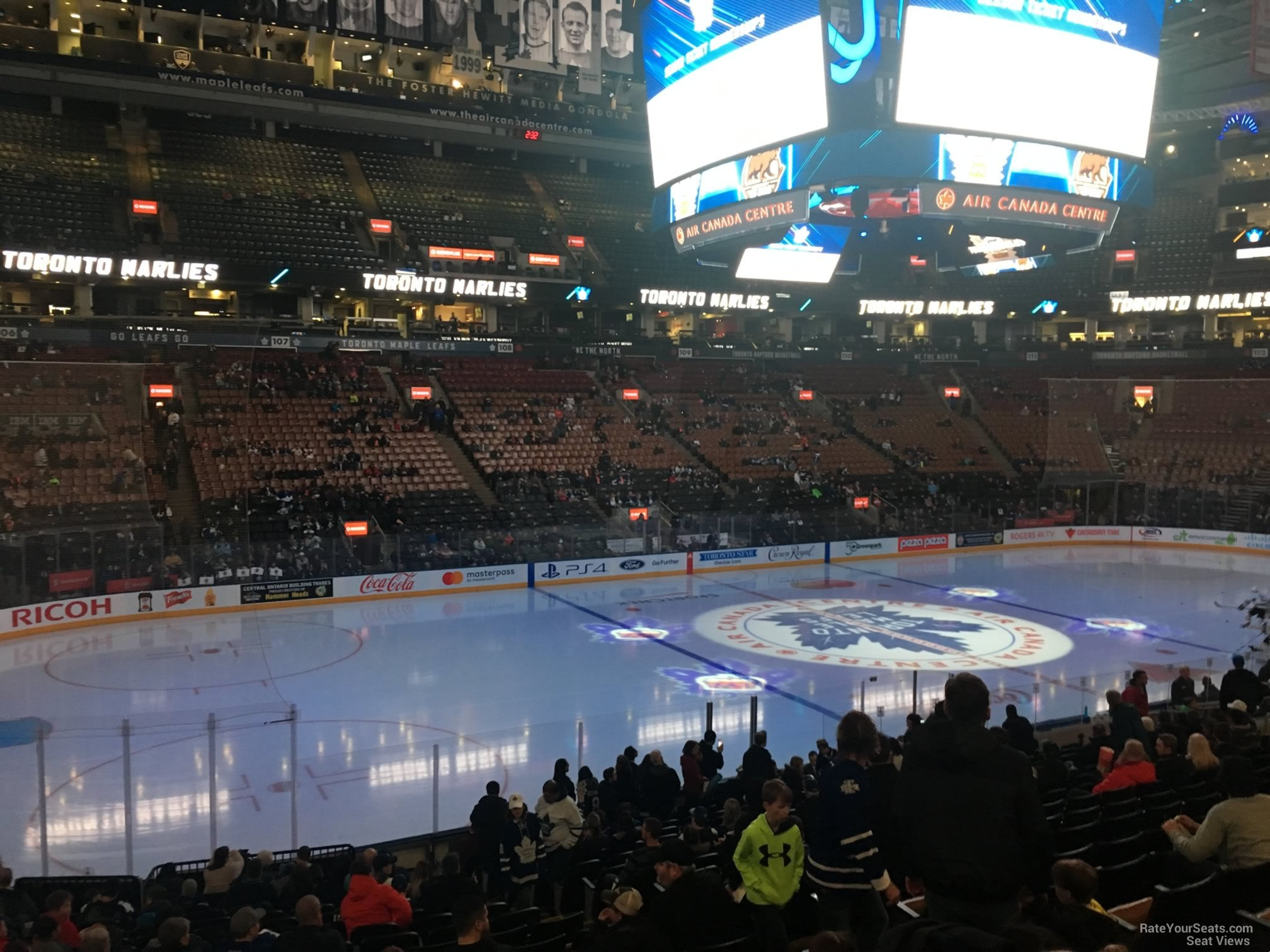 Scotiabank Arena Section 121 - Toronto Maple Leafs ...
