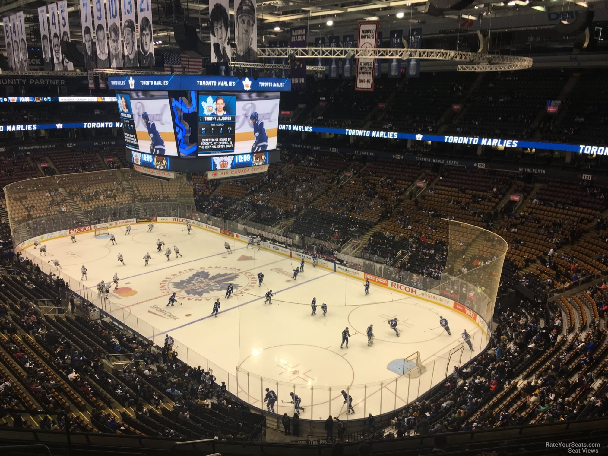 Toronto Maple Leafs Seat View for Air Canada Centre Section 305, Row 10
