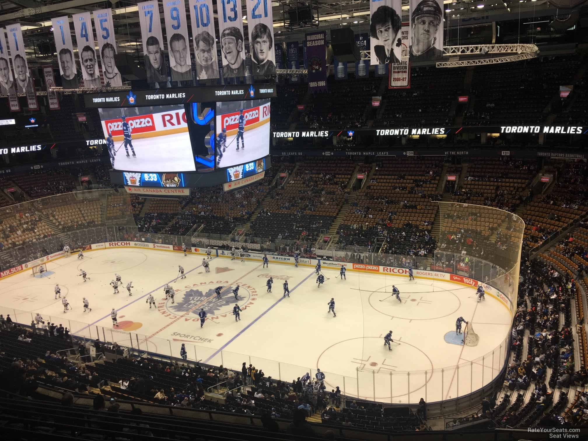 Toronto Maple Leafs Seat View for Scotiabank Arena Section 307, Row 10