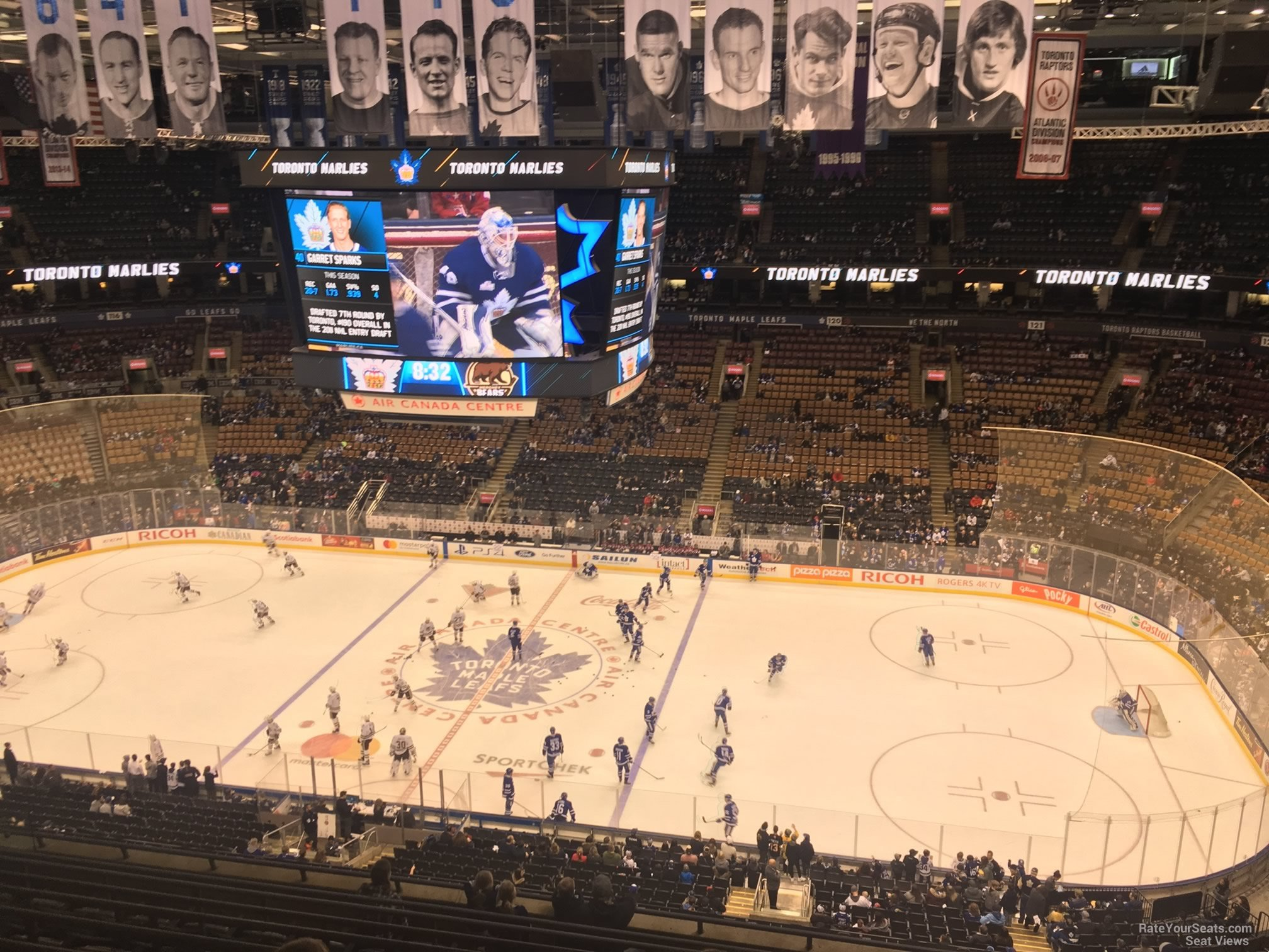 Toronto Maple Leafs Seat View for Scotiabank Arena Section 308, Row 10