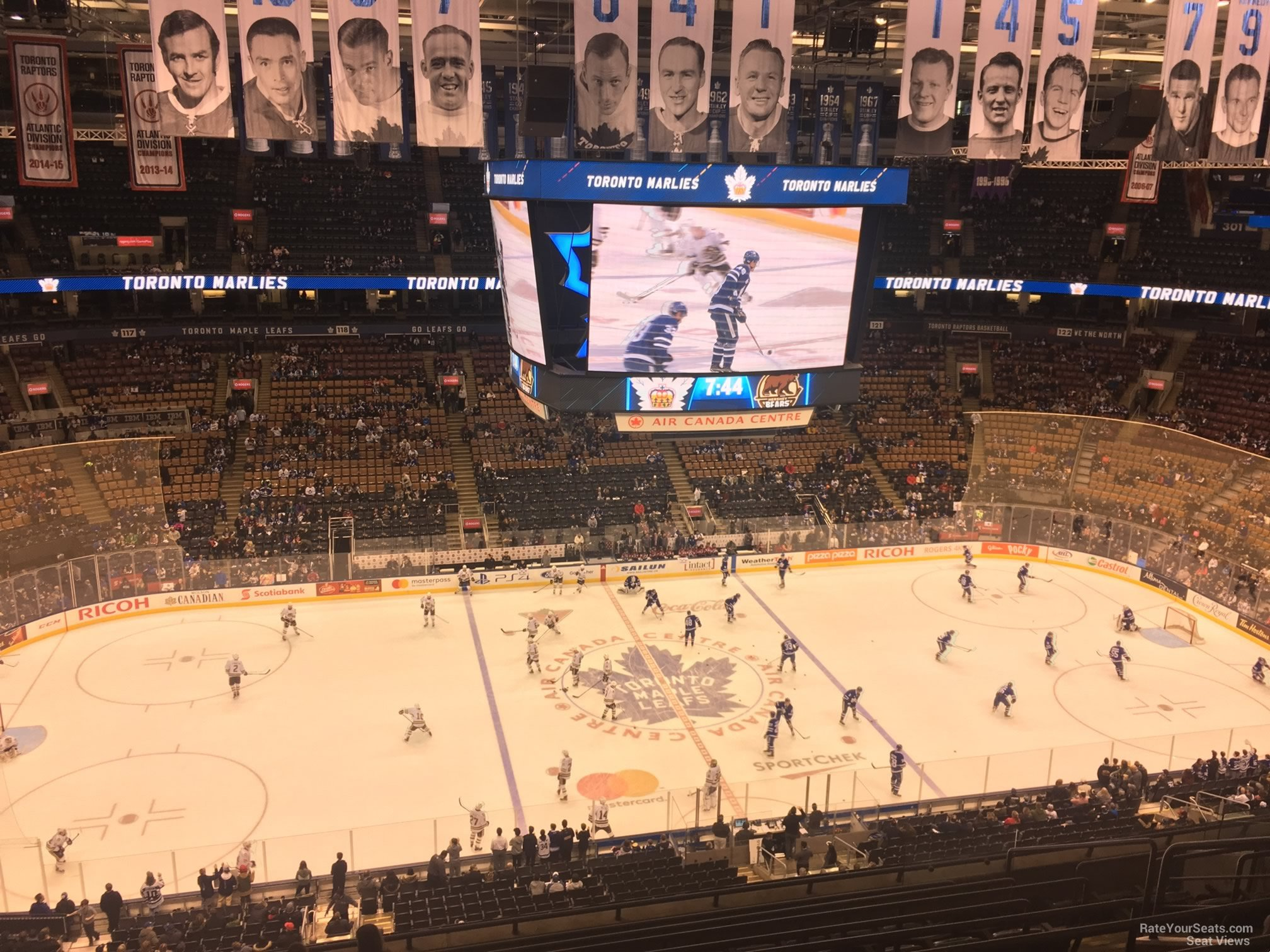 Toronto Maple Leafs Seat View for Scotiabank Arena Section 310, Row 10