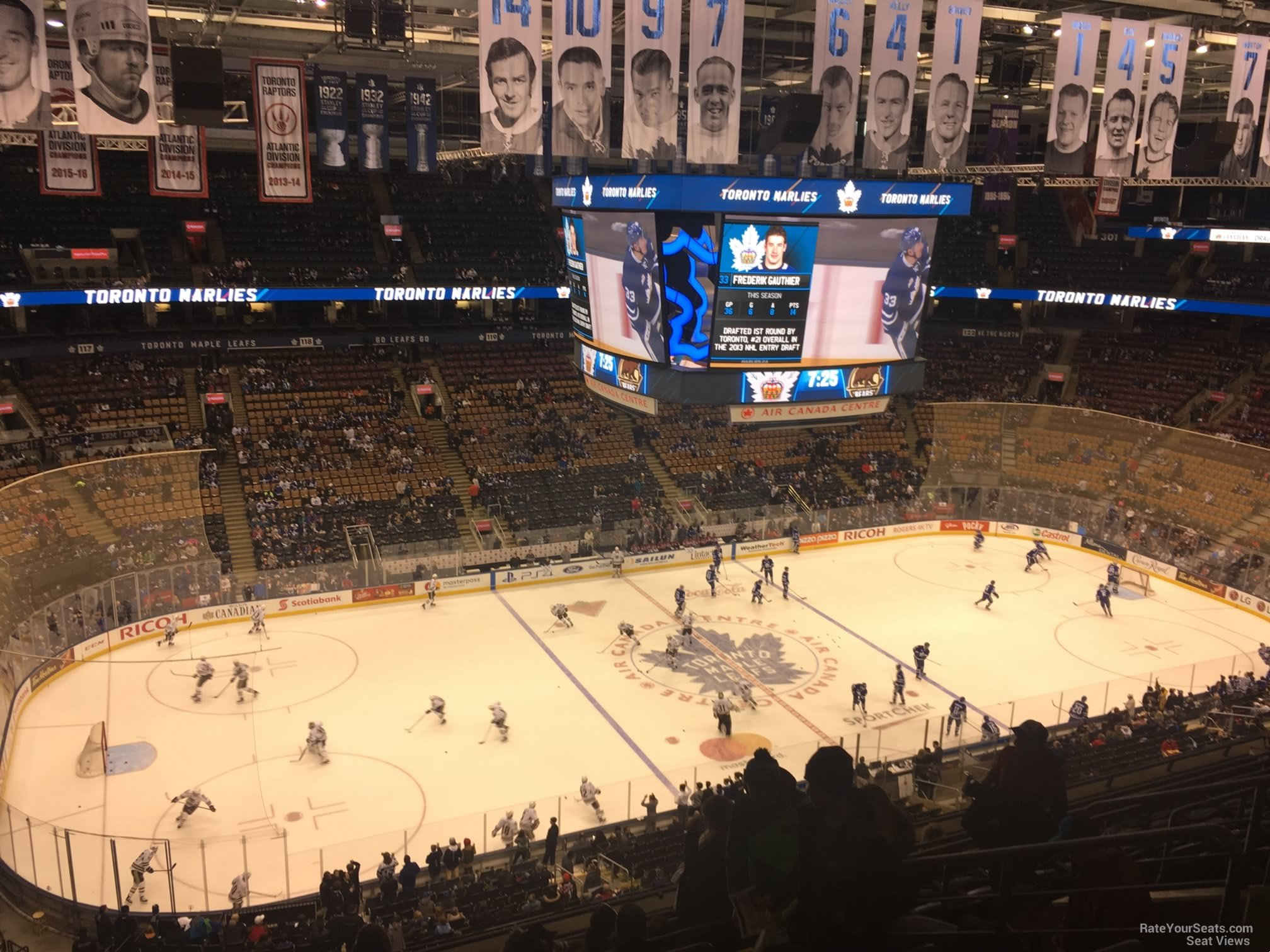 Toronto Maple Leafs Seat View for Air Canada Centre Section 311, Row 10