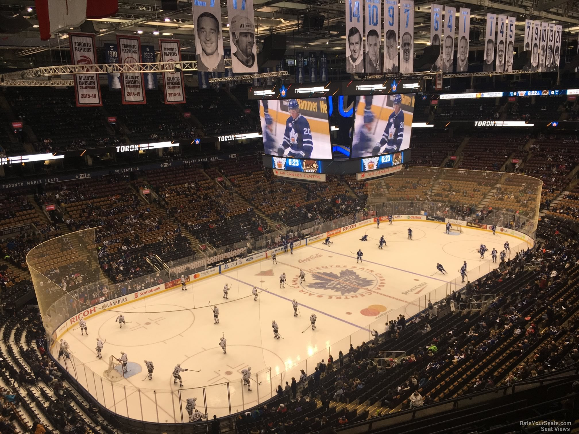 Toronto Maple Leafs Seat View for Scotiabank Arena Section 312, Row 10