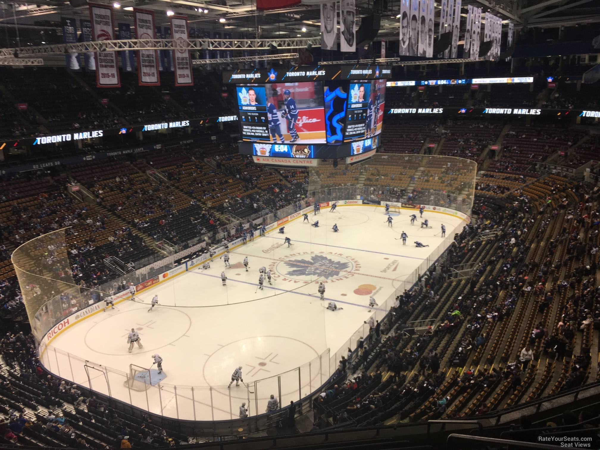 f72fe7bf87f Scotiabank Arena Section 313 - Toronto Maple Leafs - RateYourSeats.com