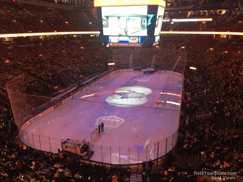 Toronto Maple Leafs Seat View for Scotiabank Arena Section 314, Row 3