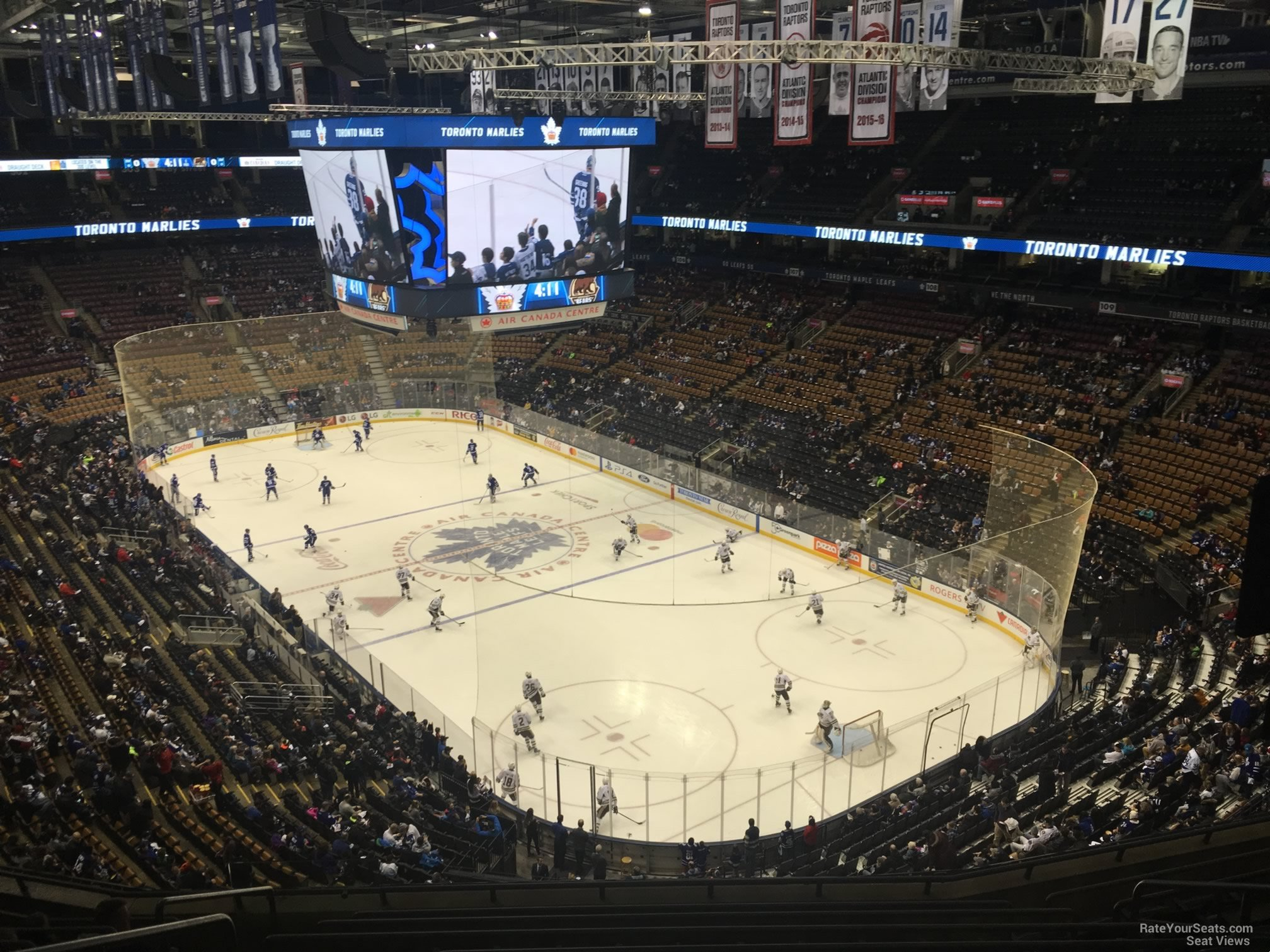 Toronto Maple Leafs Seat View for Scotiabank Arena Section 317, ...