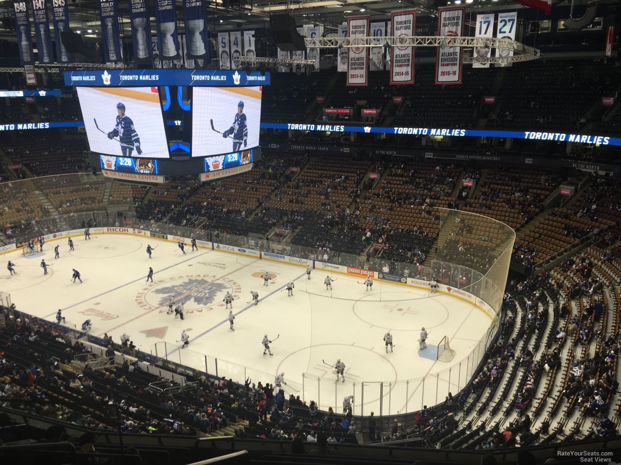 eb2178212dc Scotiabank Arena Section 318 - Toronto Maple Leafs - RateYourSeats.com