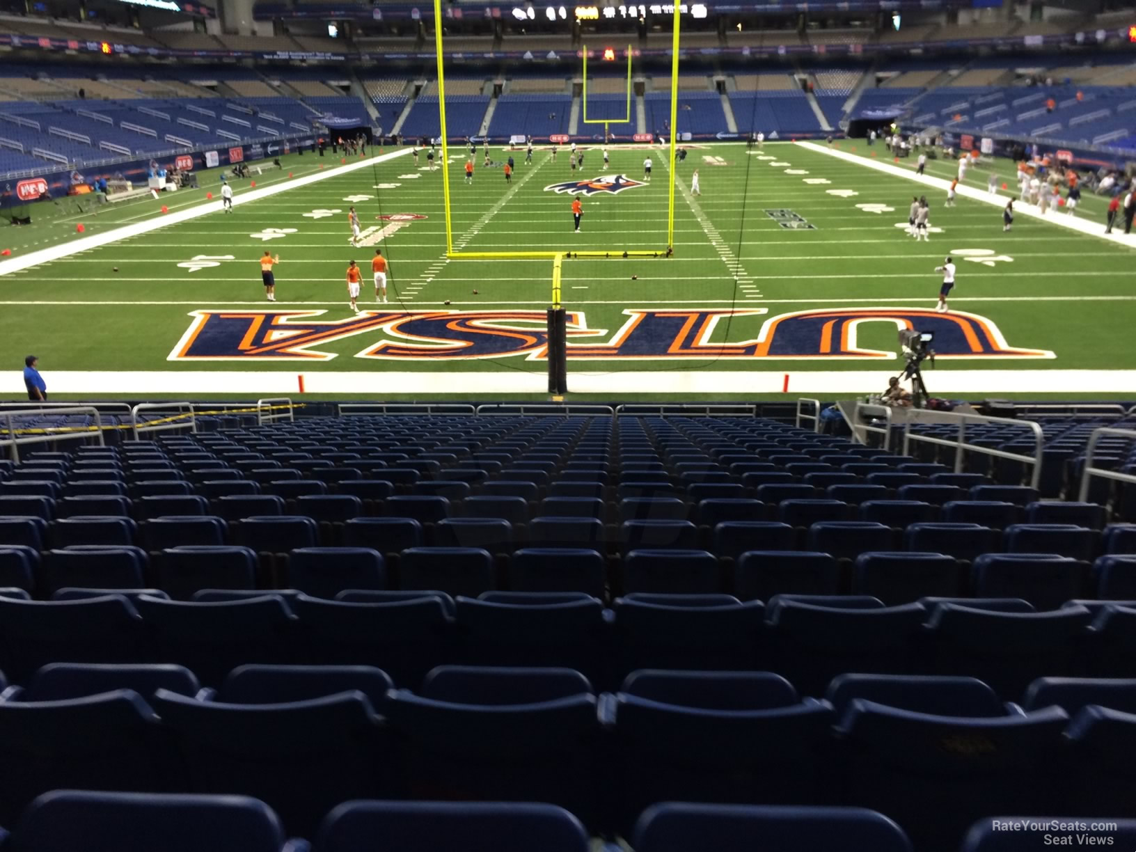 UTSA Roadrunners Seat View for Alamodome Section 123, Row 18