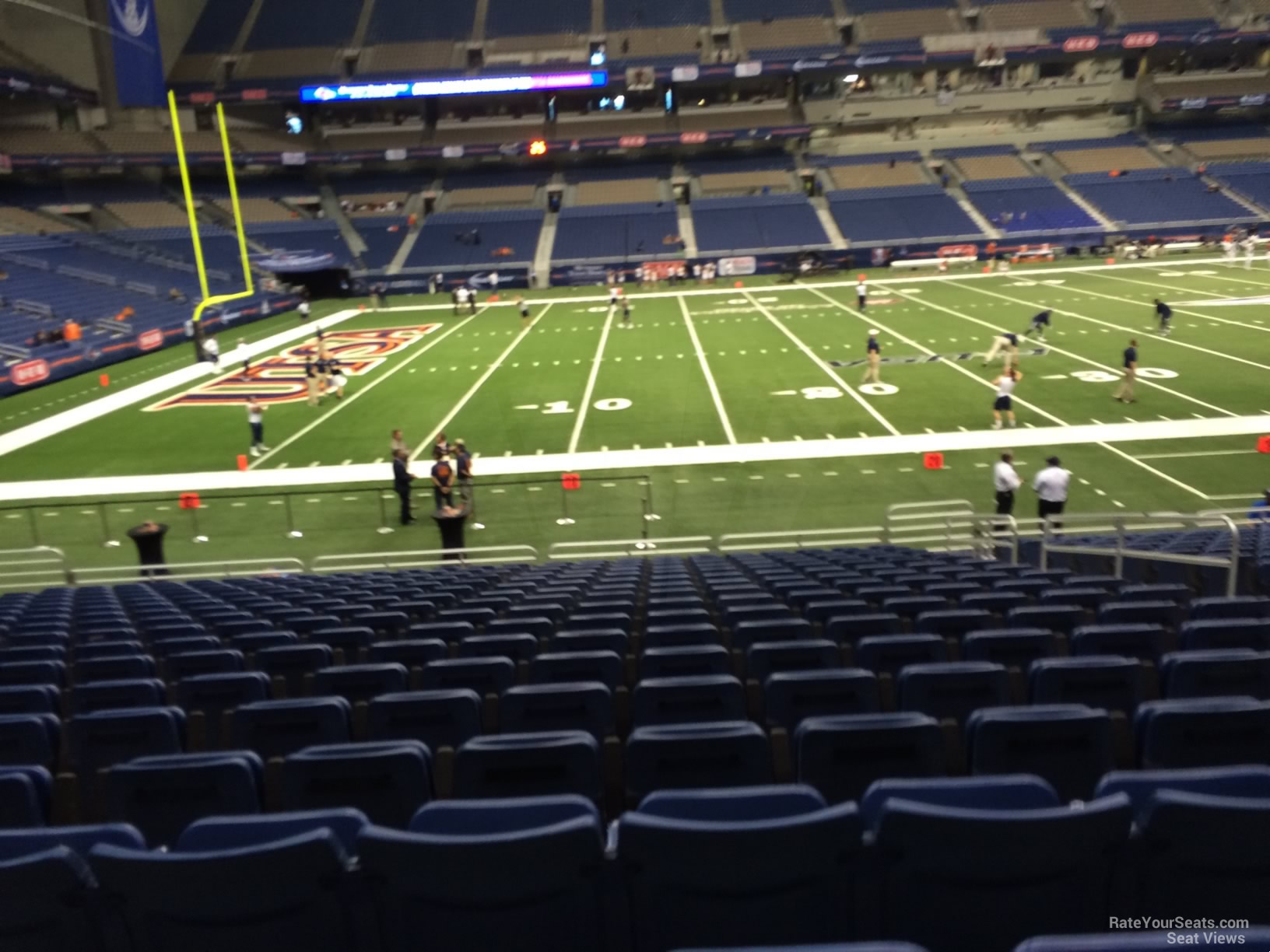 UTSA Roadrunners Seat View for Alamodome Section 137, Row 18
