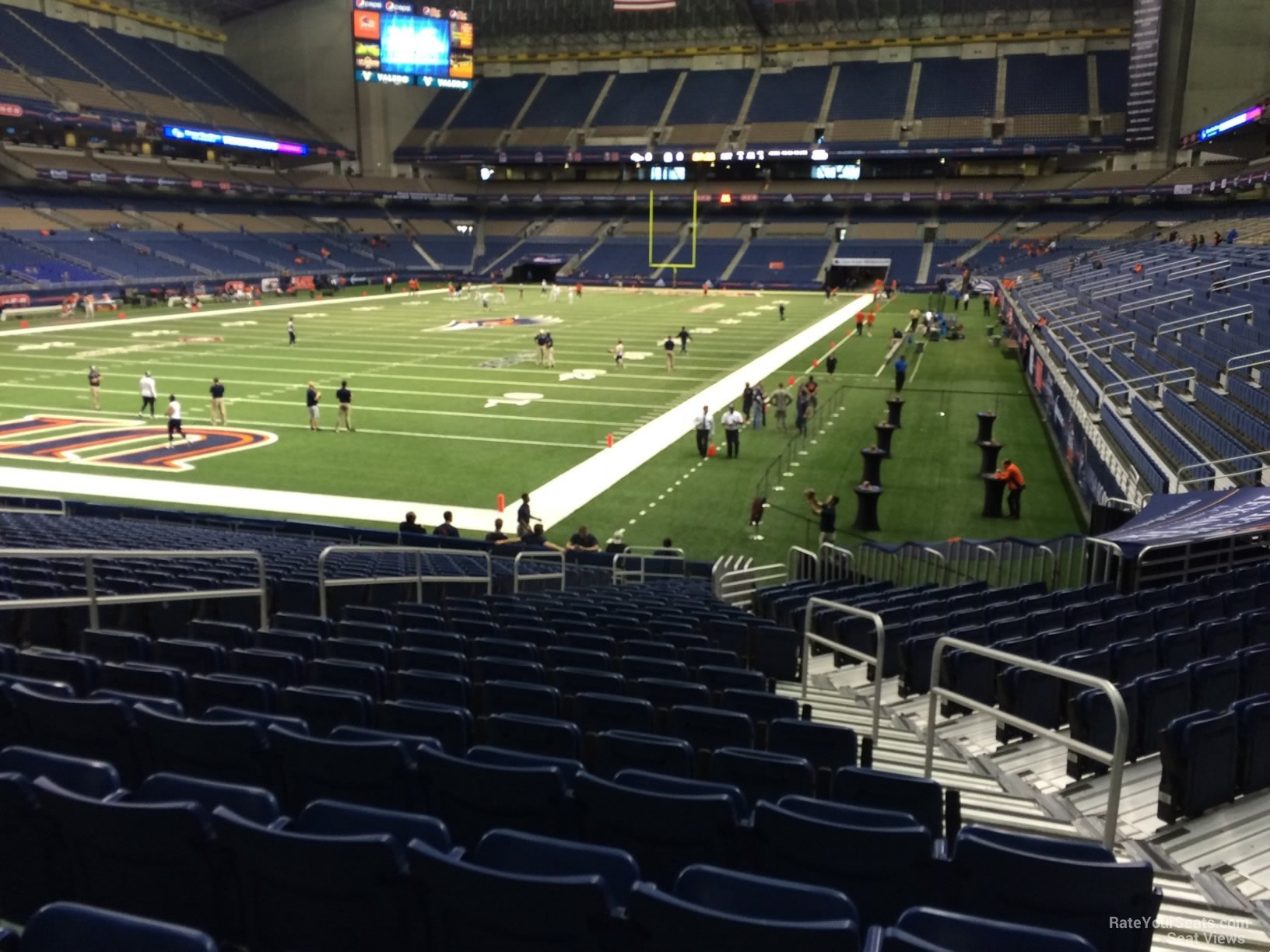 UTSA Roadrunners Seat View for Alamodome Section 142, Row 18