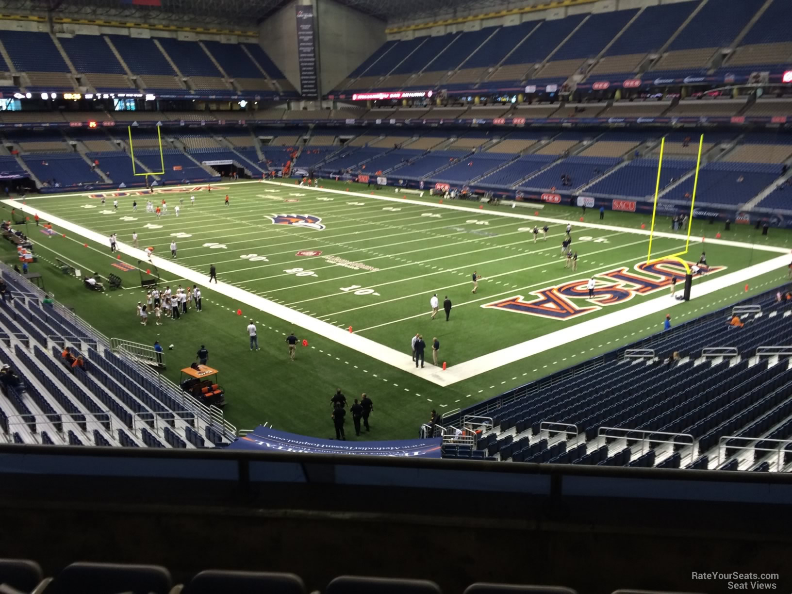 UTSA Roadrunners Seat View for Alamodome Section 205A, Row 5