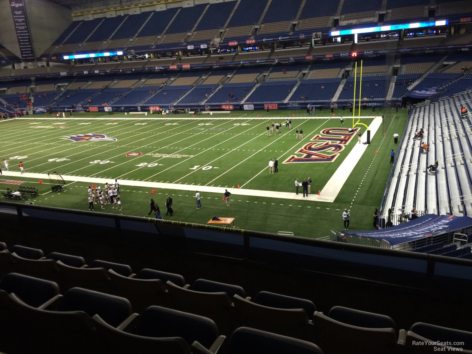 UTSA Roadrunners Seat View for Alamodome Section 207, Row 5