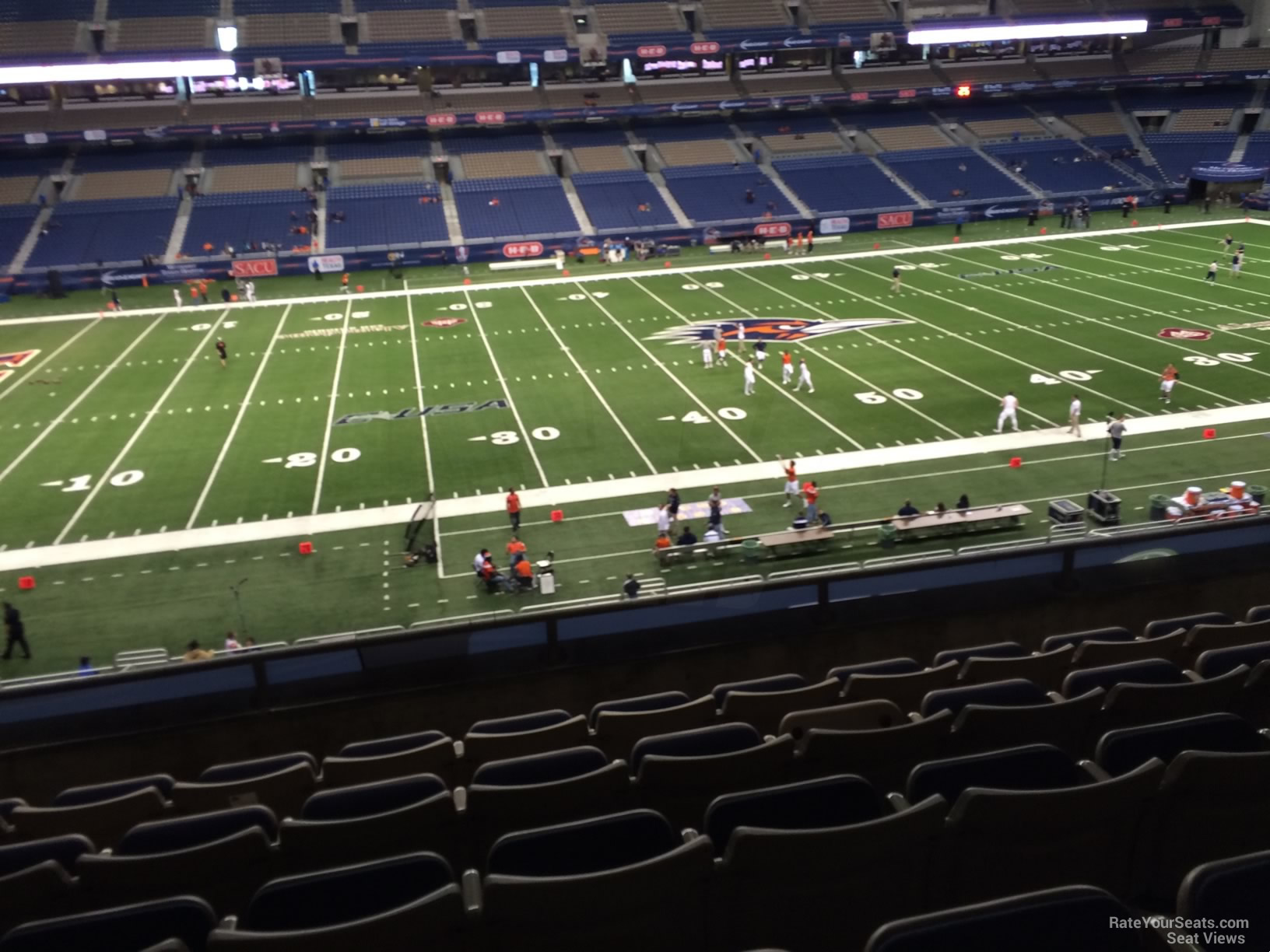 UTSA Roadrunners Seat View for Alamodome Section 214, Row 5