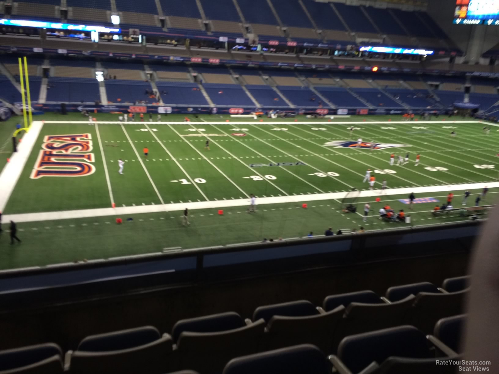 UTSA Roadrunners Seat View for Alamodome Section 216, Row 5